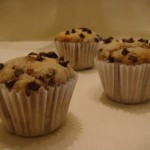 Banana Chocolate-Chip Muffins!