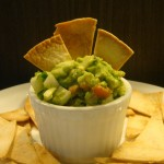 Homemade Tortilla Chips & Guacamole Dip
