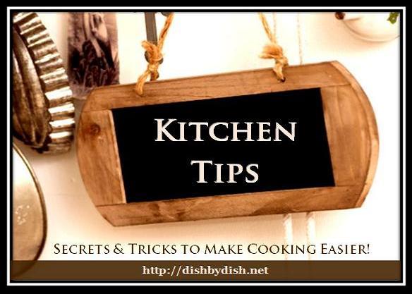Kitchen Tips - blackboard2
