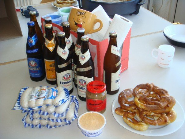 Bavarian brunch with roommates