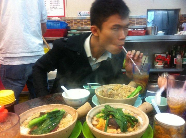 claypot rice in HK
