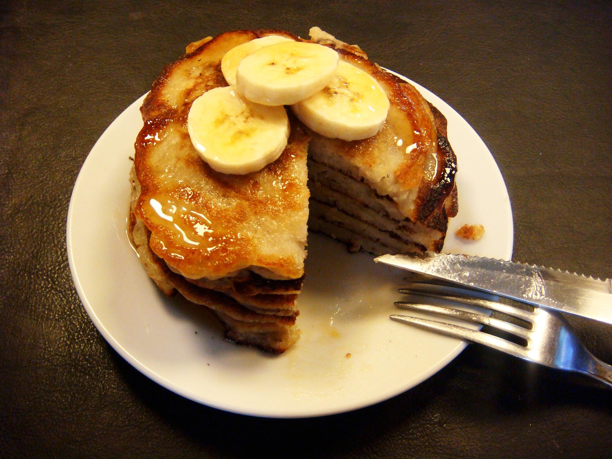 Banana pancakes8