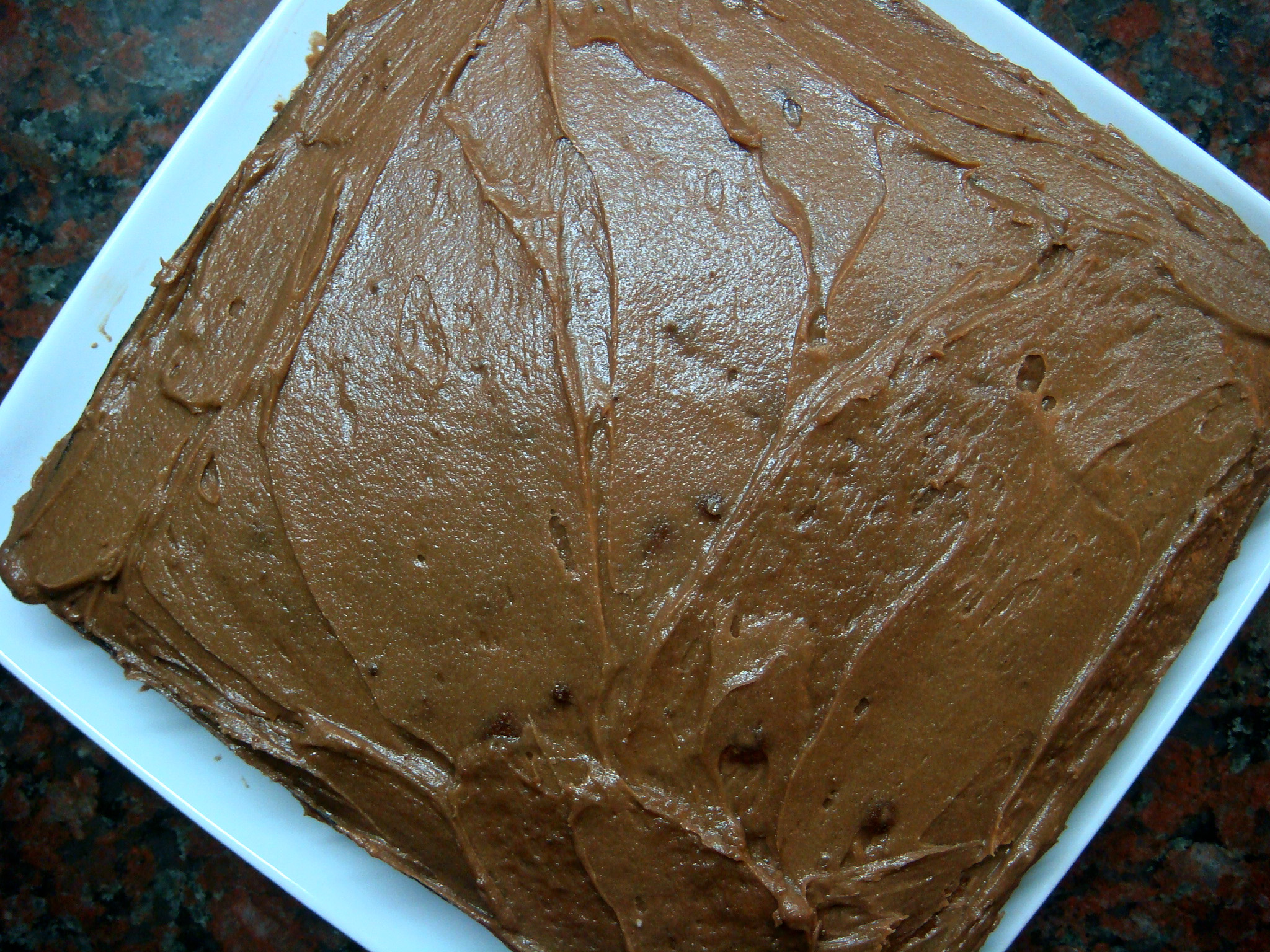 Chocolate Cake with Chocolate Buttercream Frosting1