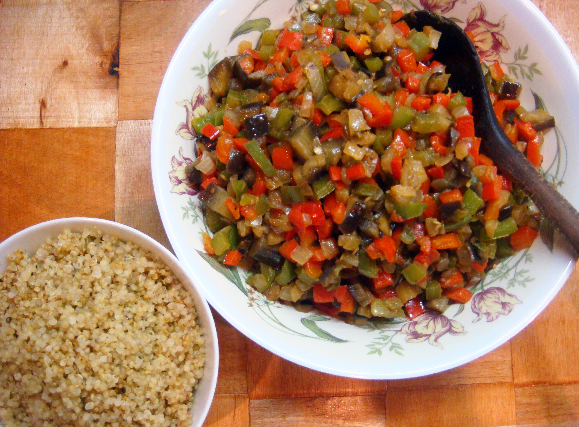 Quinoa and Roasted Vegetables1