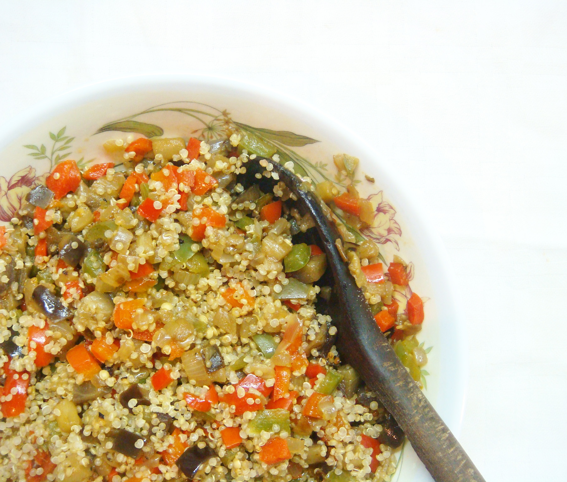 Quinoa and Roasted Vegetables4