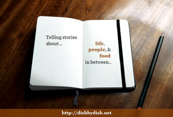 Telling stories about life, people & food in between