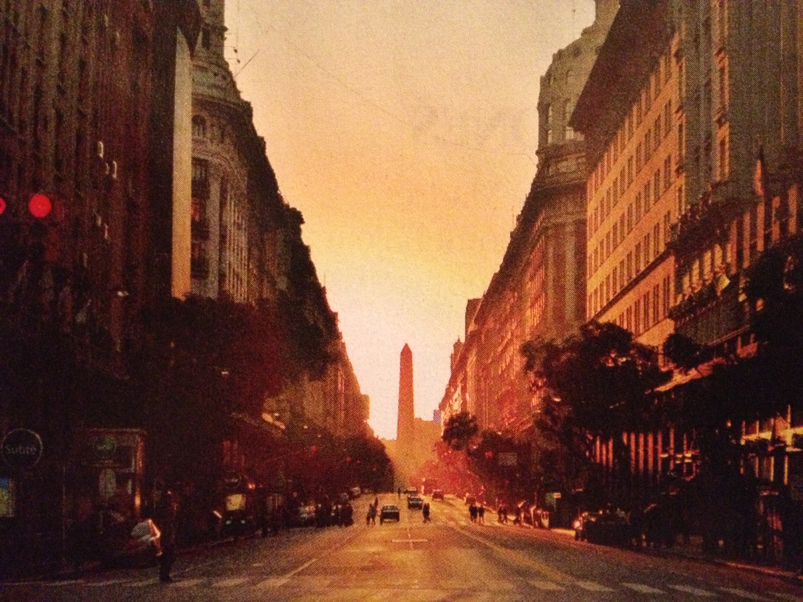 BA Sunset Obelisco