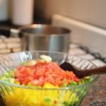 Baked Fish Fillets in Citrus & Vegetable Sauce + Gratitude