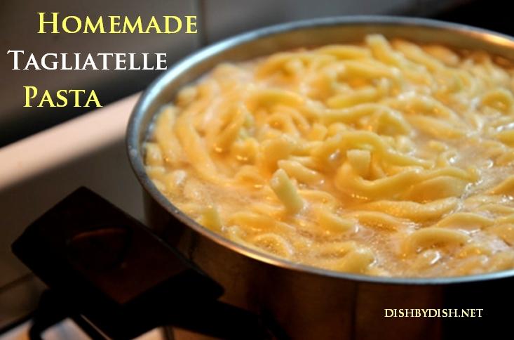 Homemade Tagliatelle Pasta1