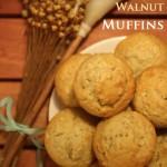 Honey Oat Walnut Muffins