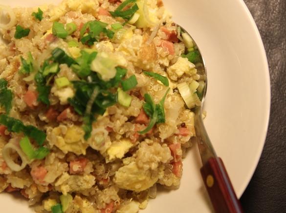 Stir-Fried Sausage & Egg Quinoa