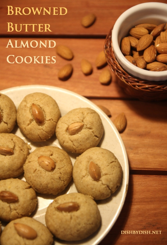 Browned Butter Almond Cookies1