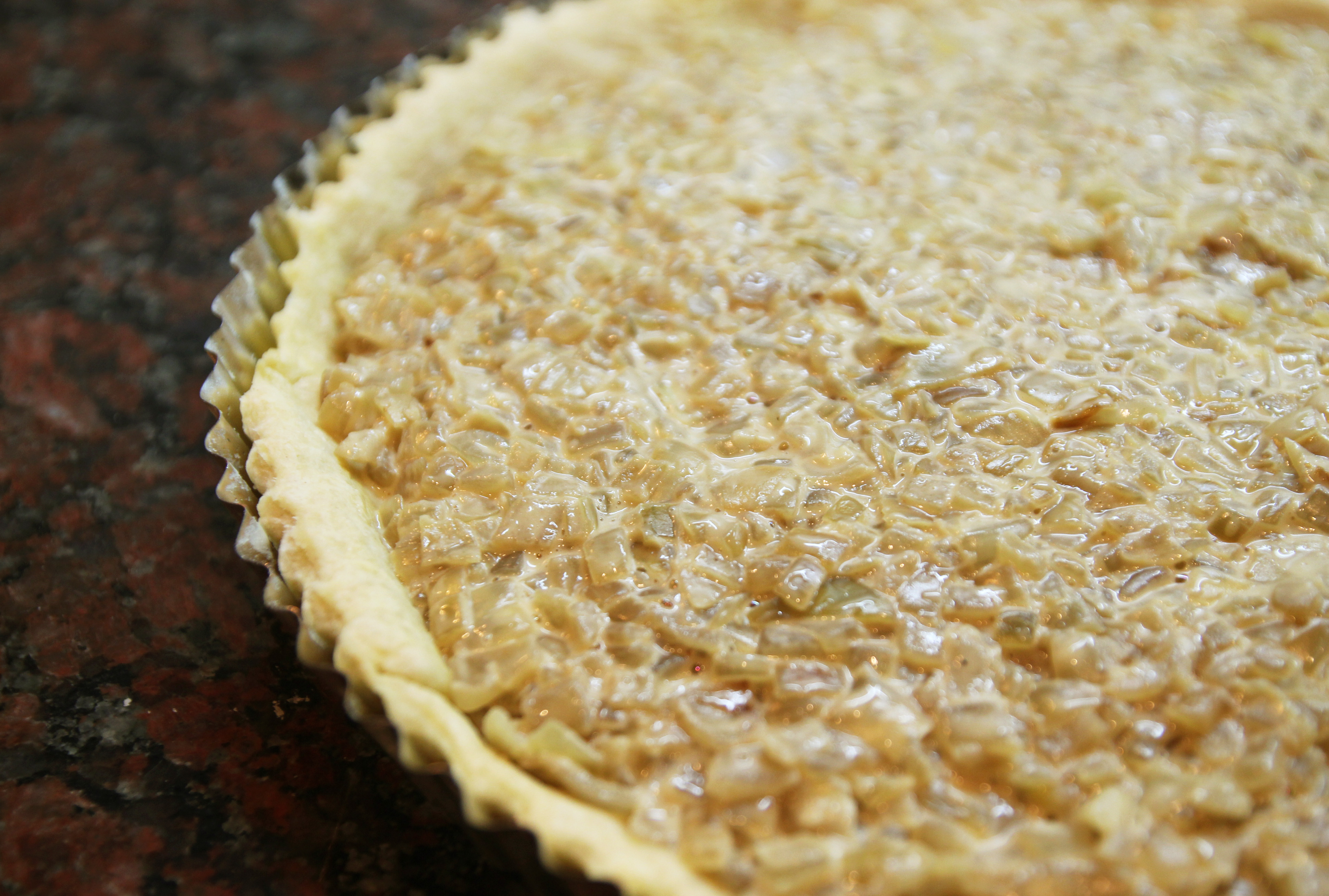 Caramelized Onion Quiche - Dish by Dish
