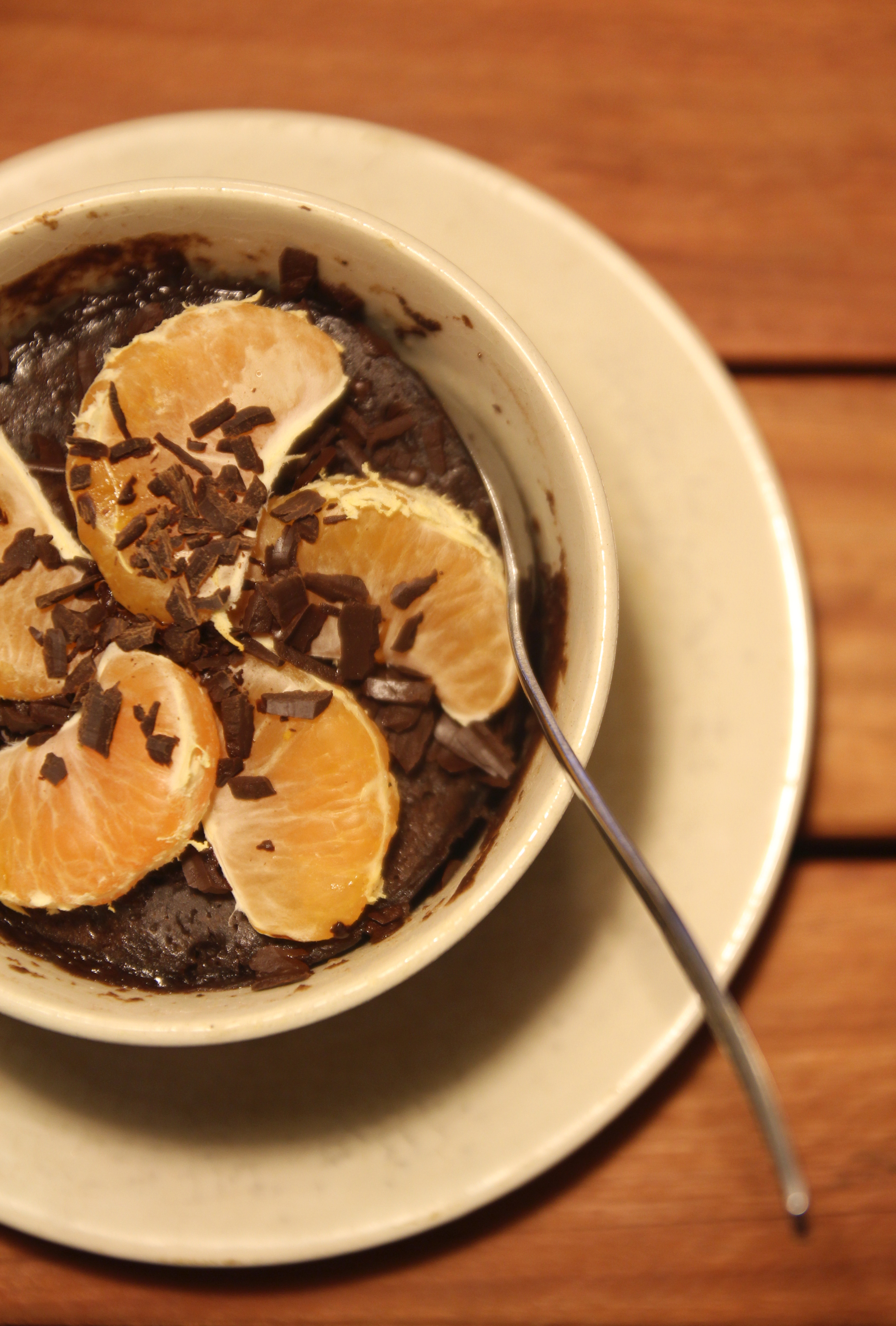 5-Minute Molten Chocolate Mug Cake