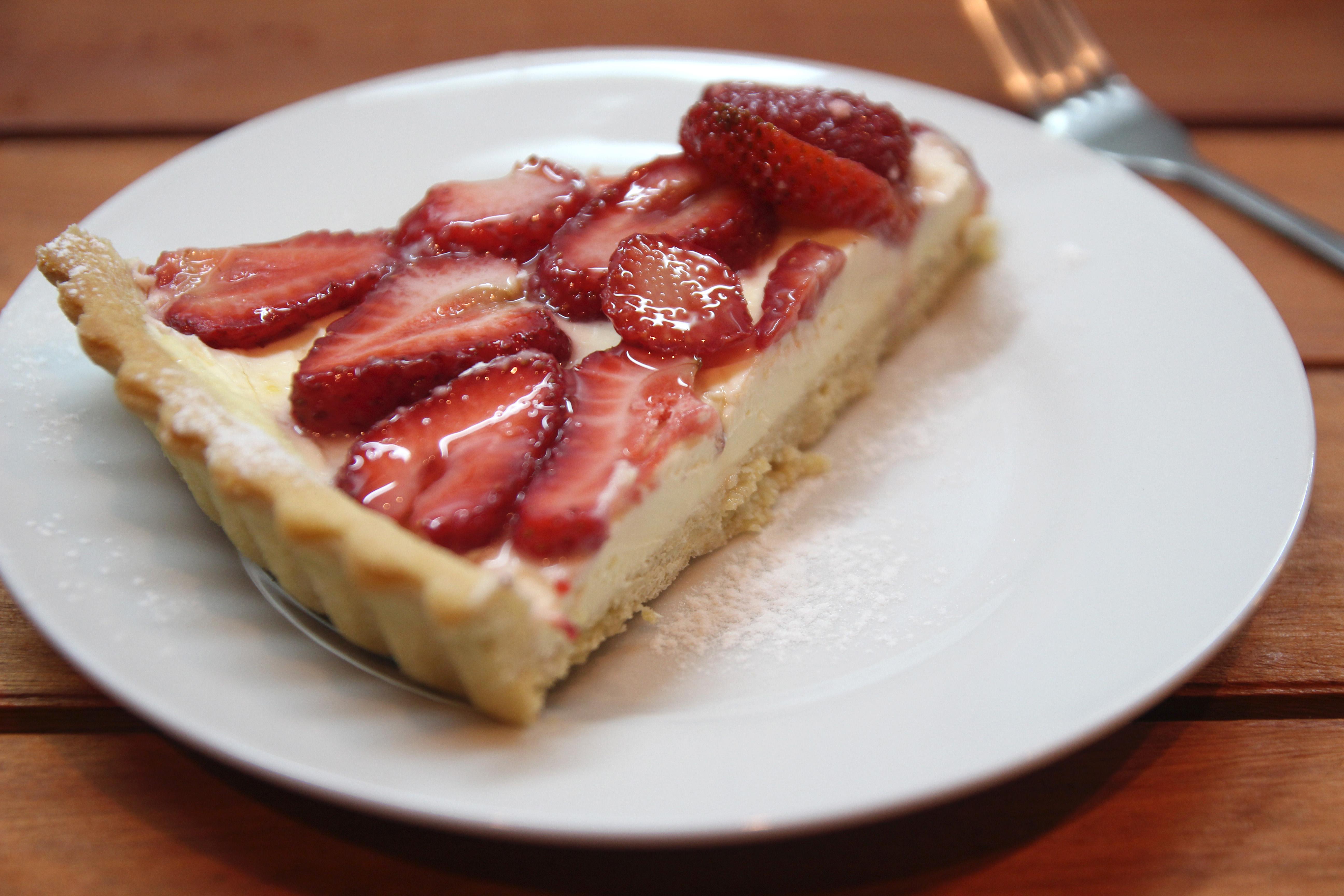Strawberry & Lemon Mascarpone Tart