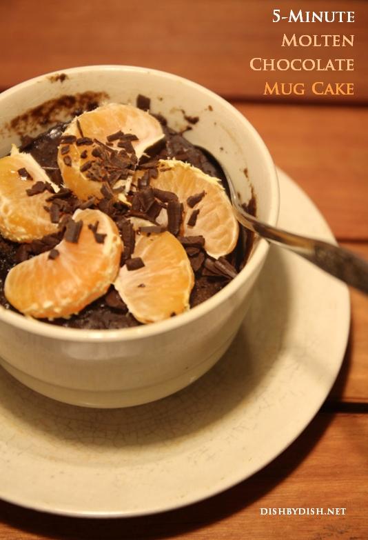 Molten Chocolate Mug Cake
