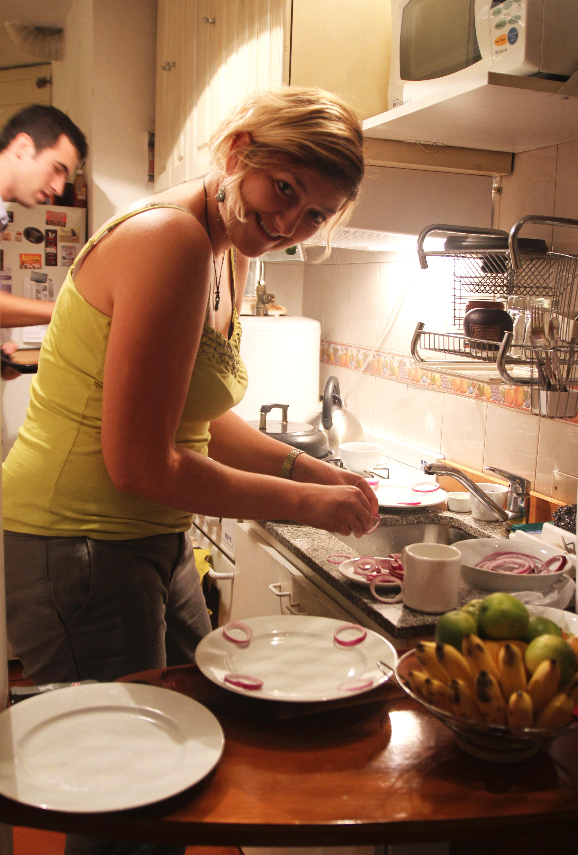 Wiw preparing Tartare Steak