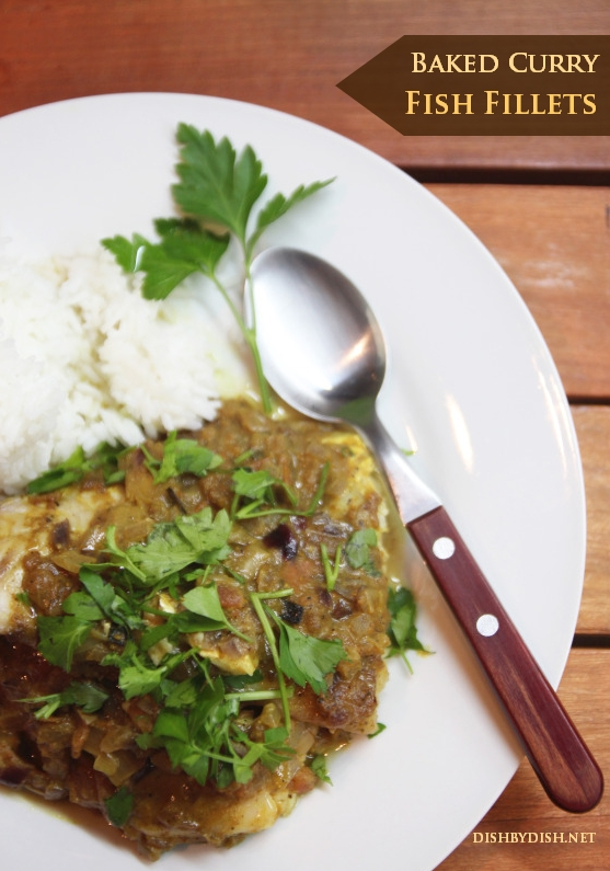 Baked Curry Fish Fillets