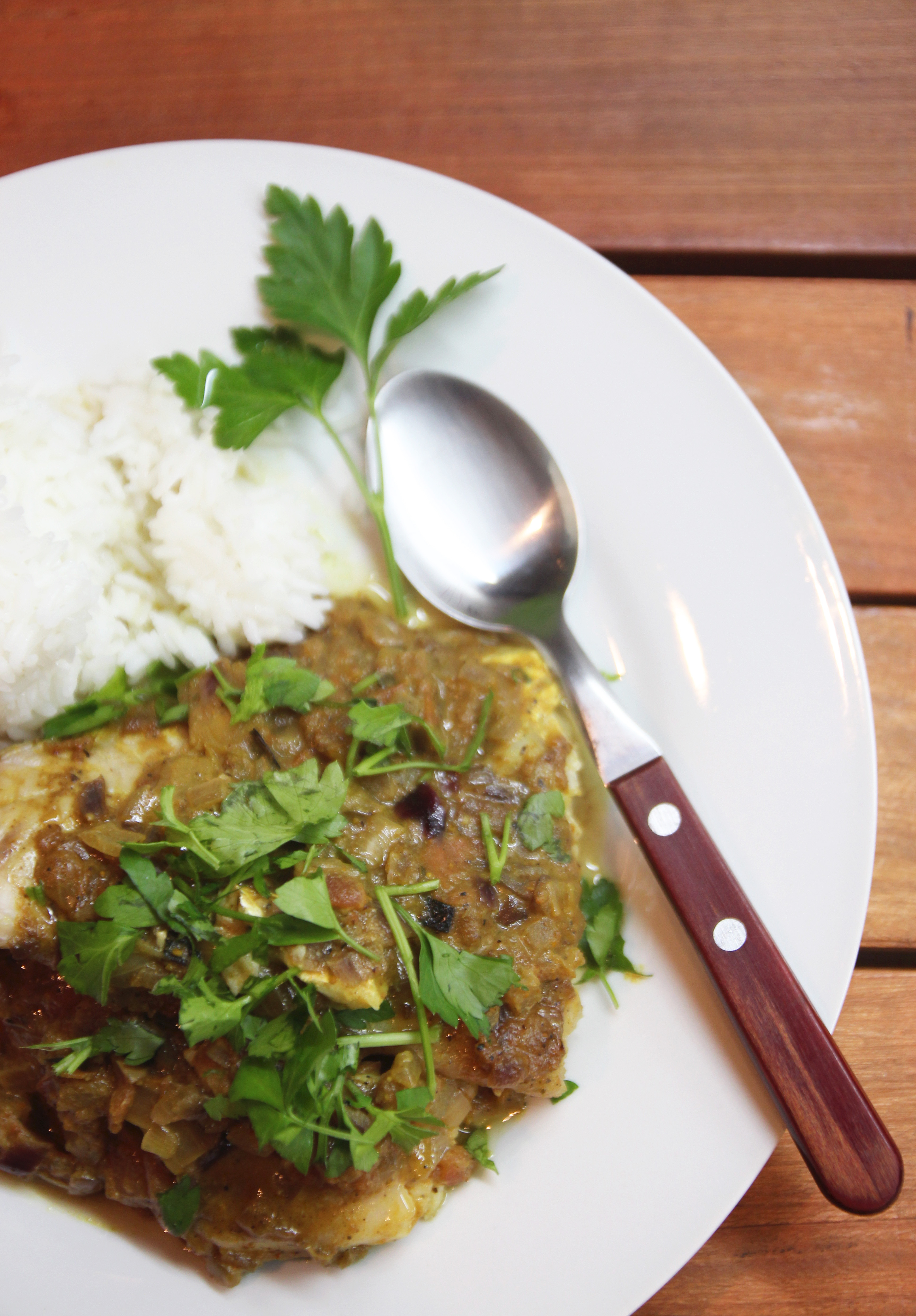 Baked Curry Fish Fillets7