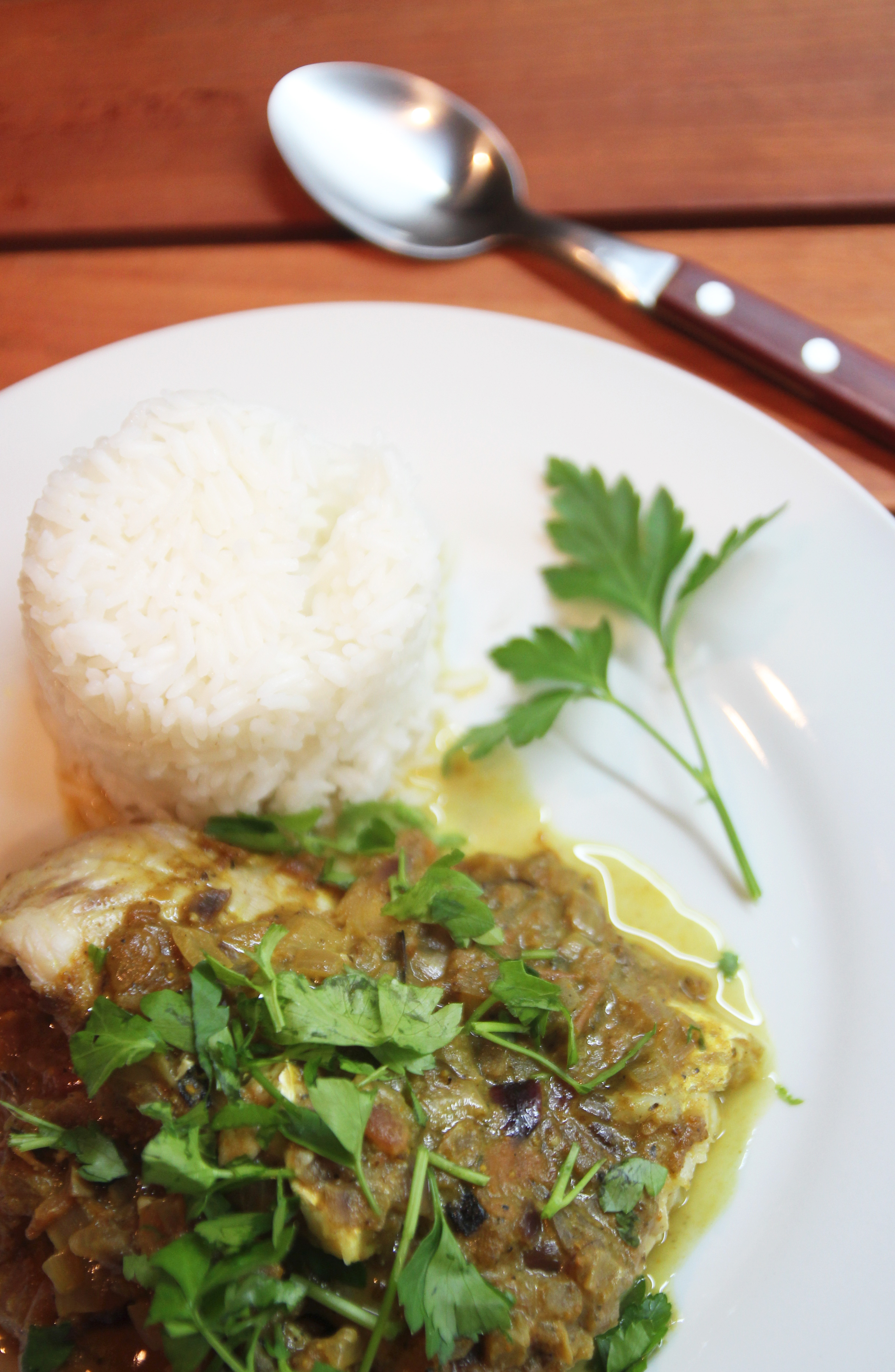 Baked Curry Fish Fillets8