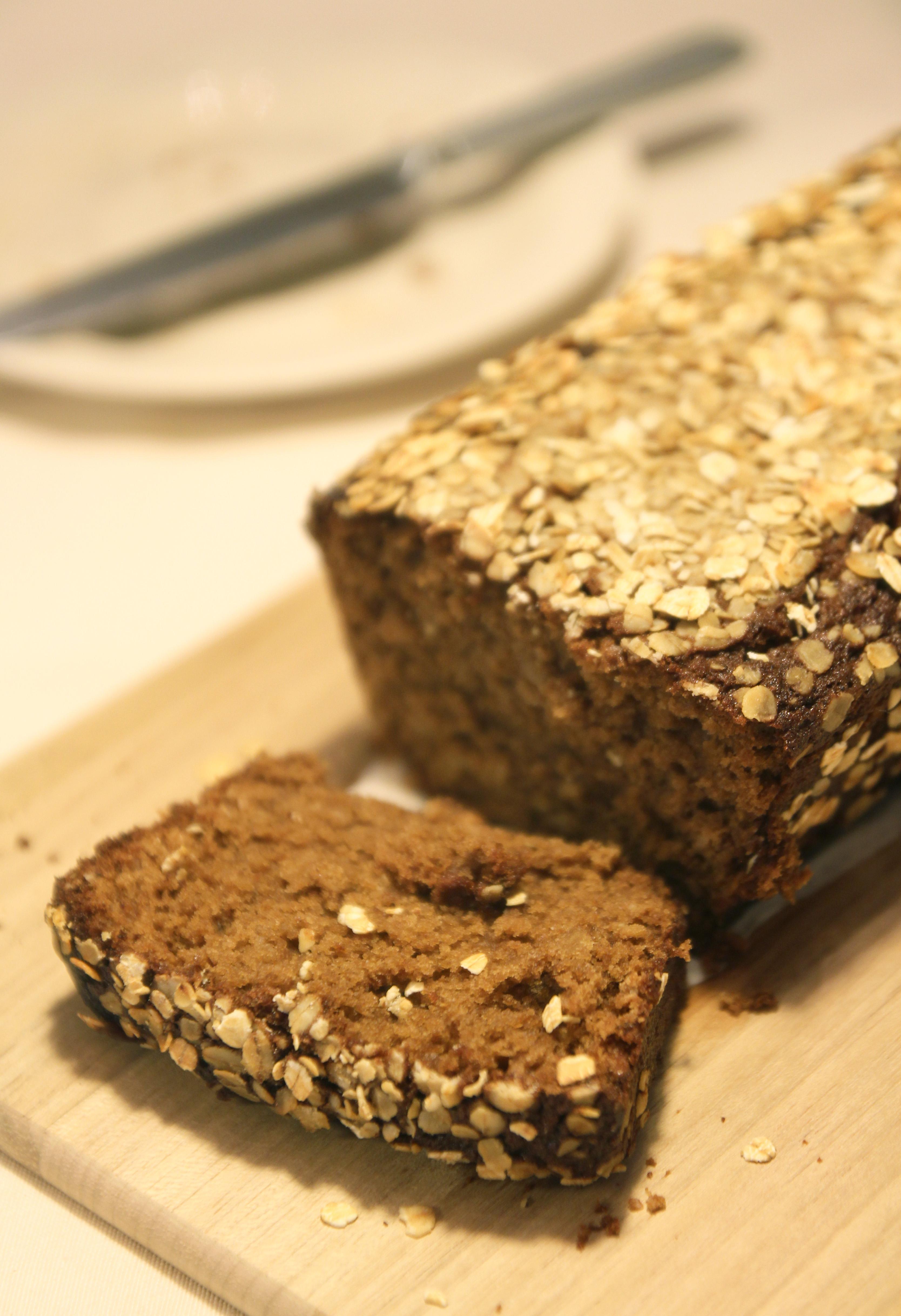 Honey Oat Bread5