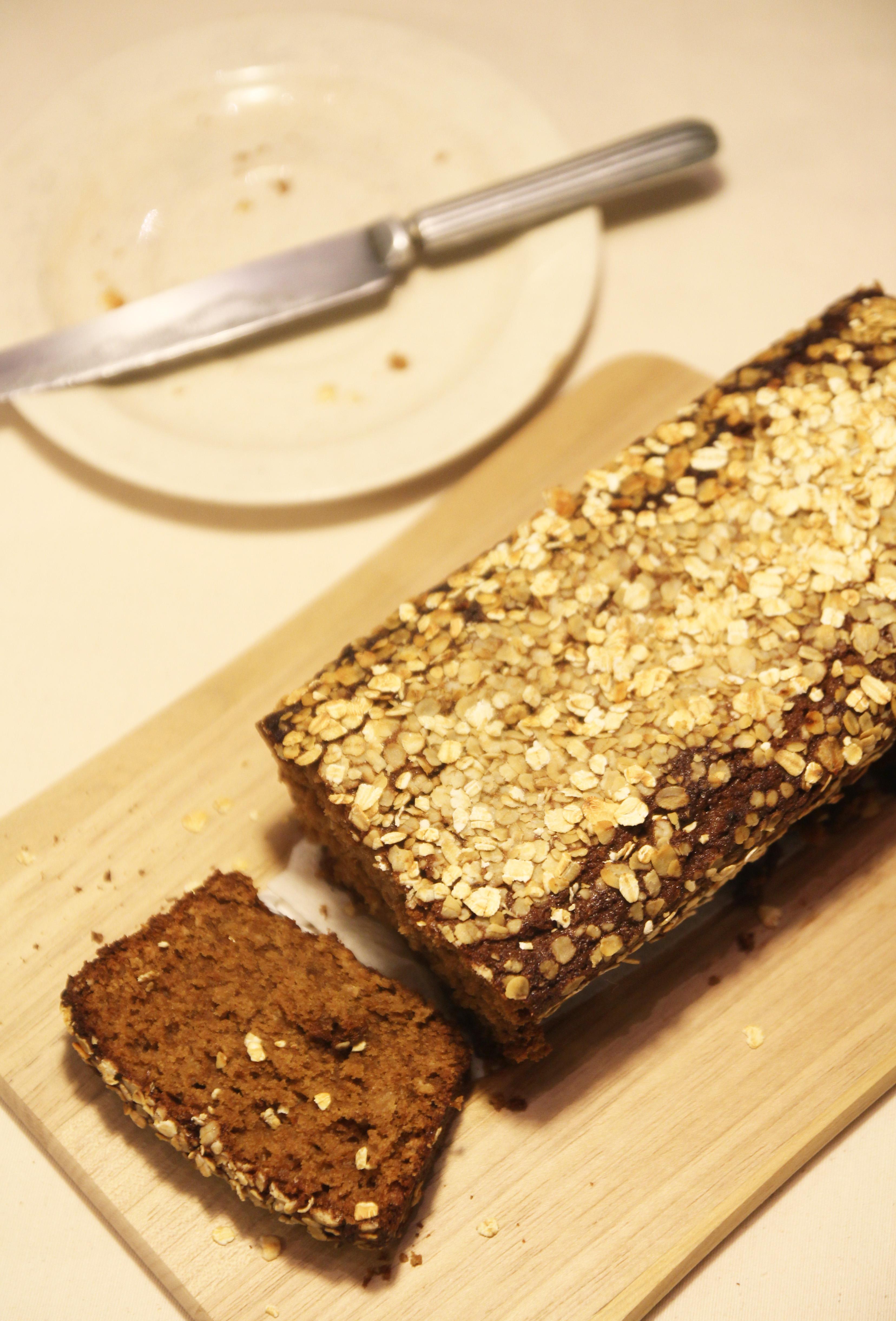 Honey Oat Bread8