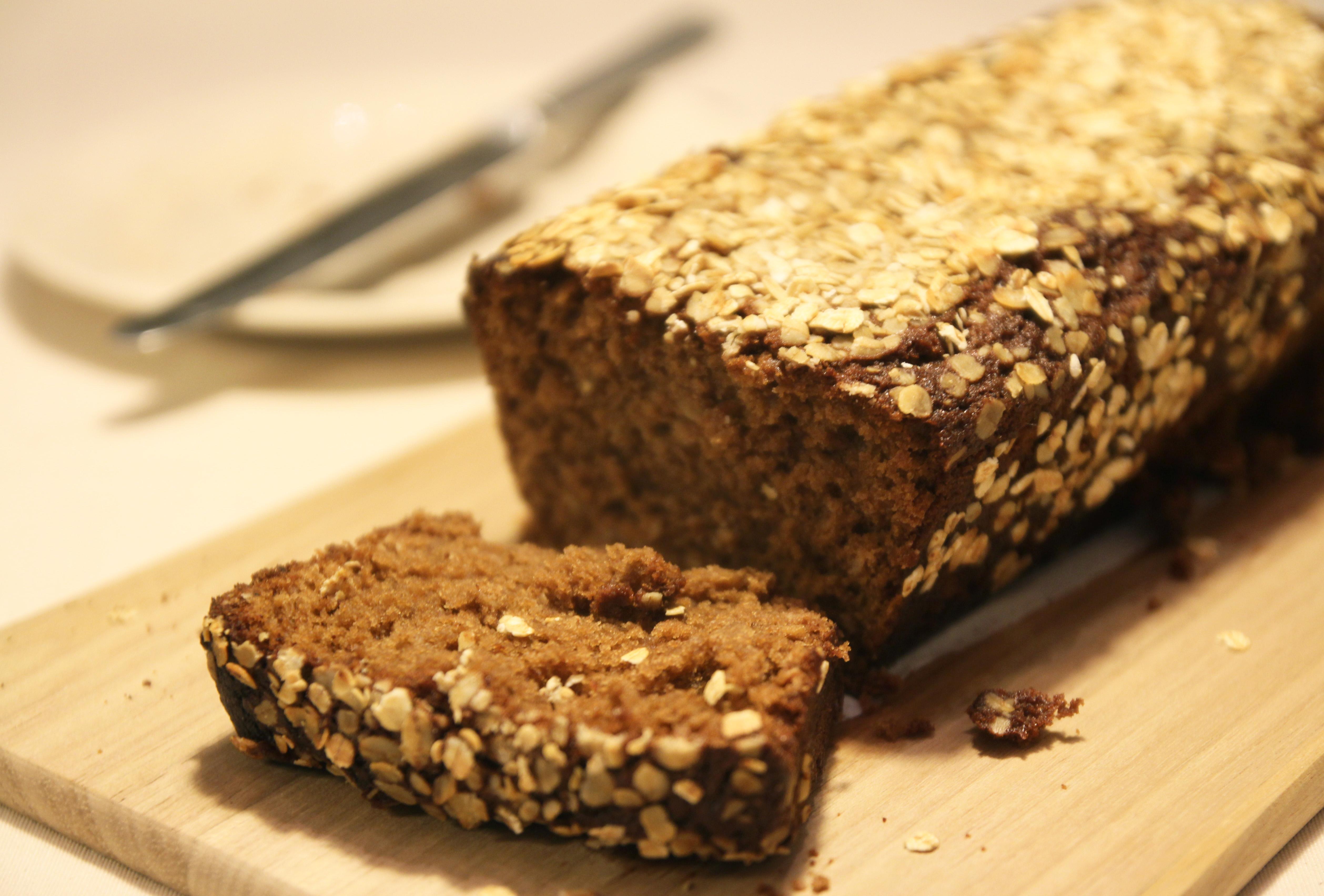 Honey Oat Bread9