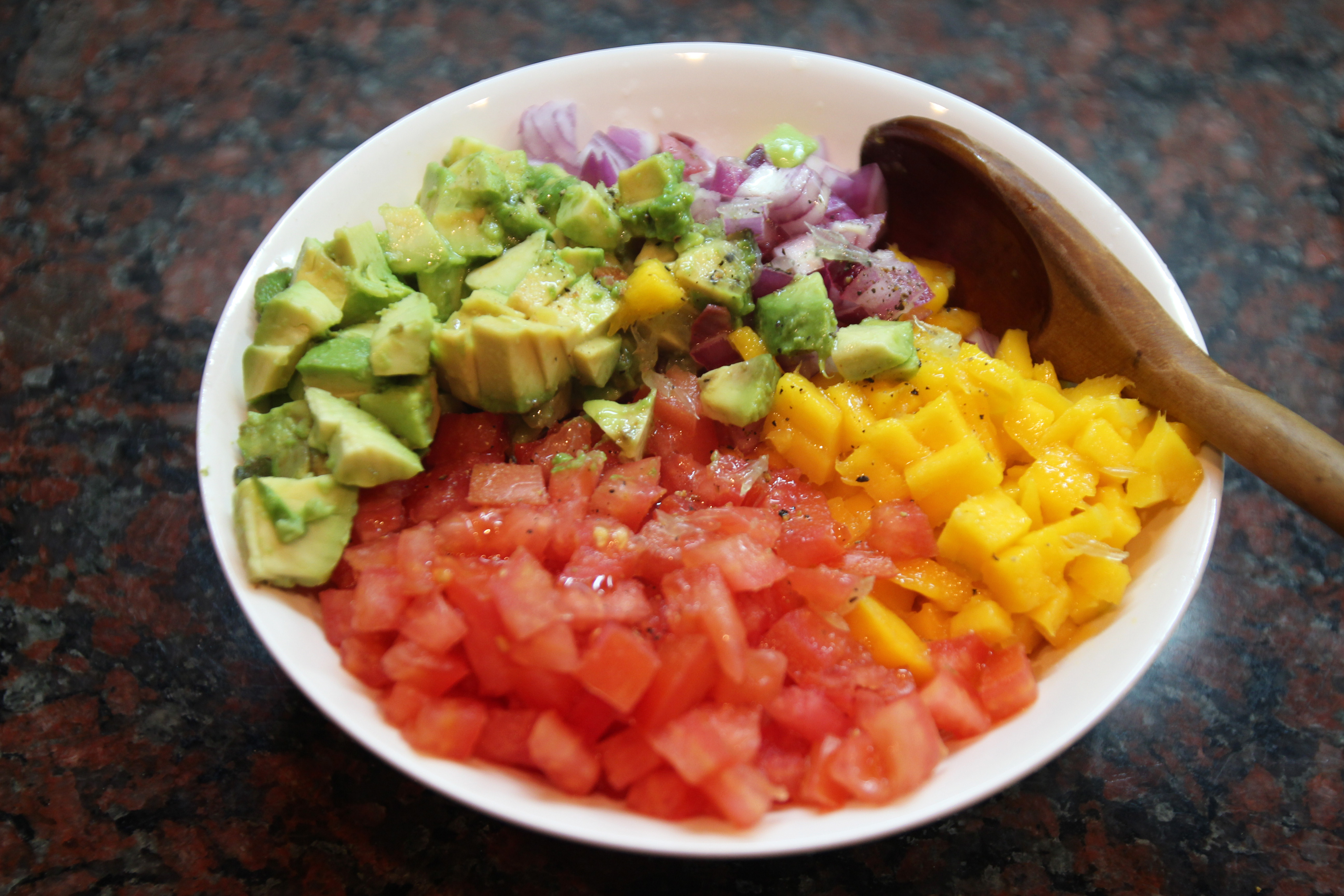 Mango Avocado Salsa & Homemade Tortilla Chips10