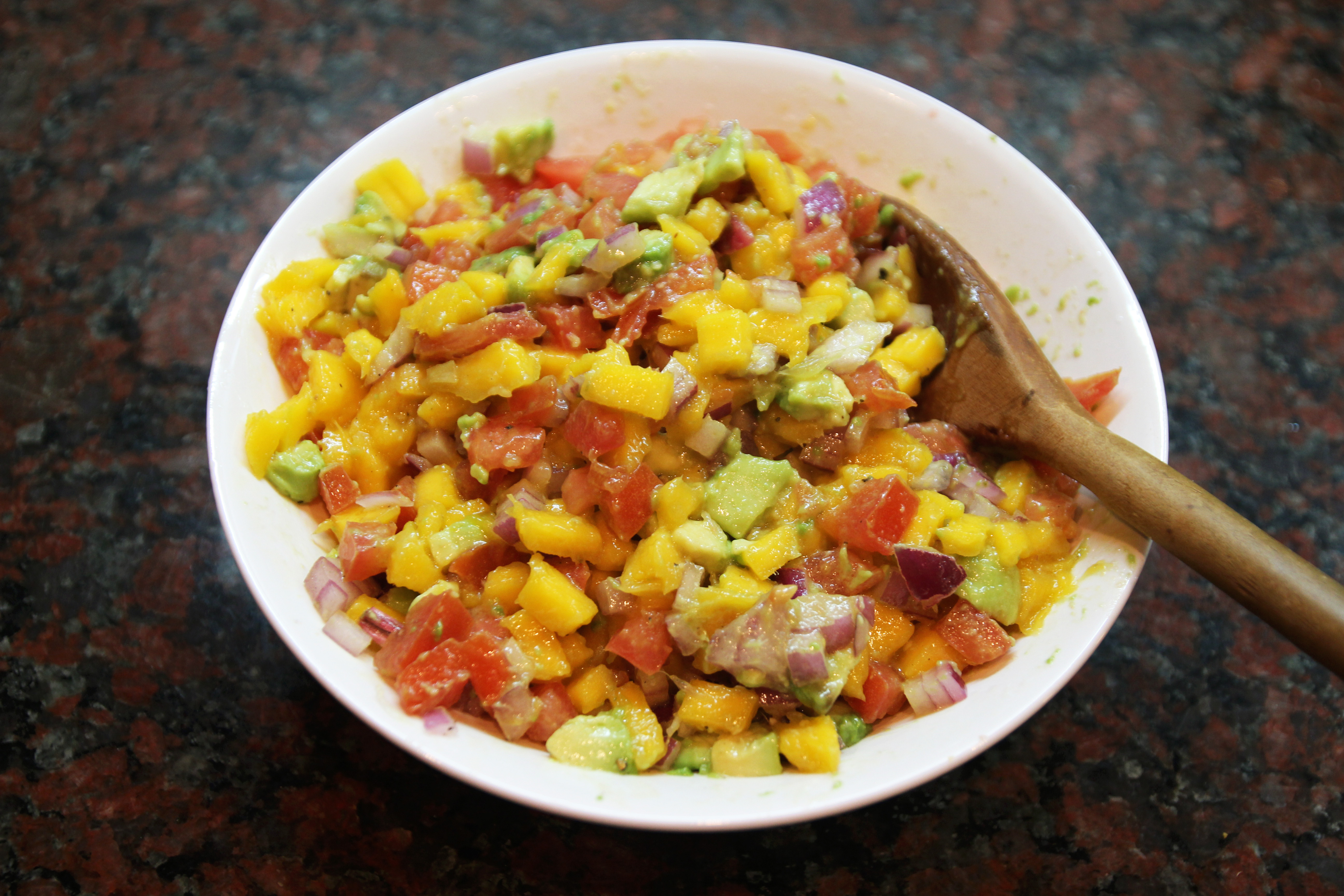 Mango Avocado Salsa & Homemade Tortilla Chips11