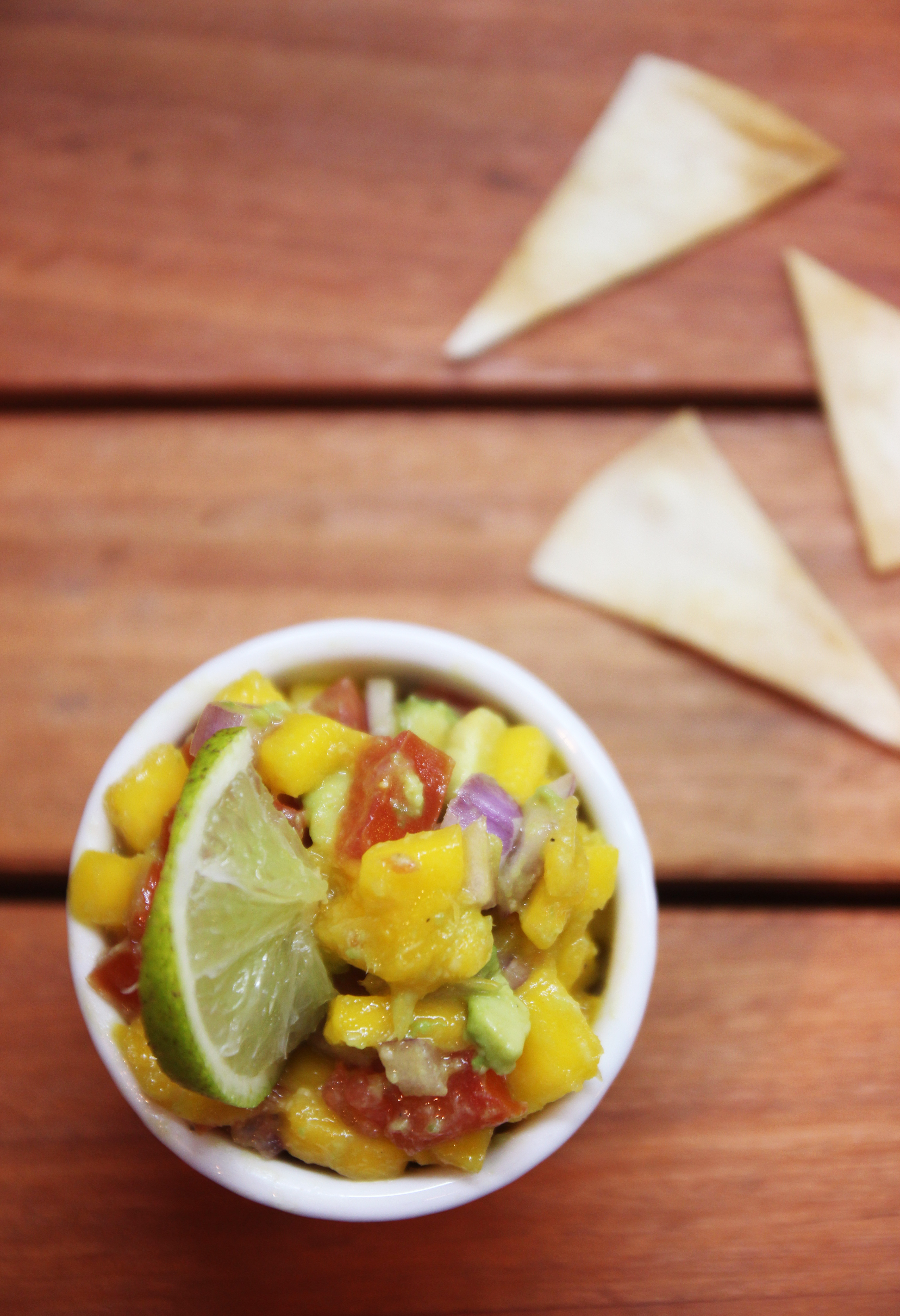 Mango Avocado Salsa & Homemade Tortilla Chips19
