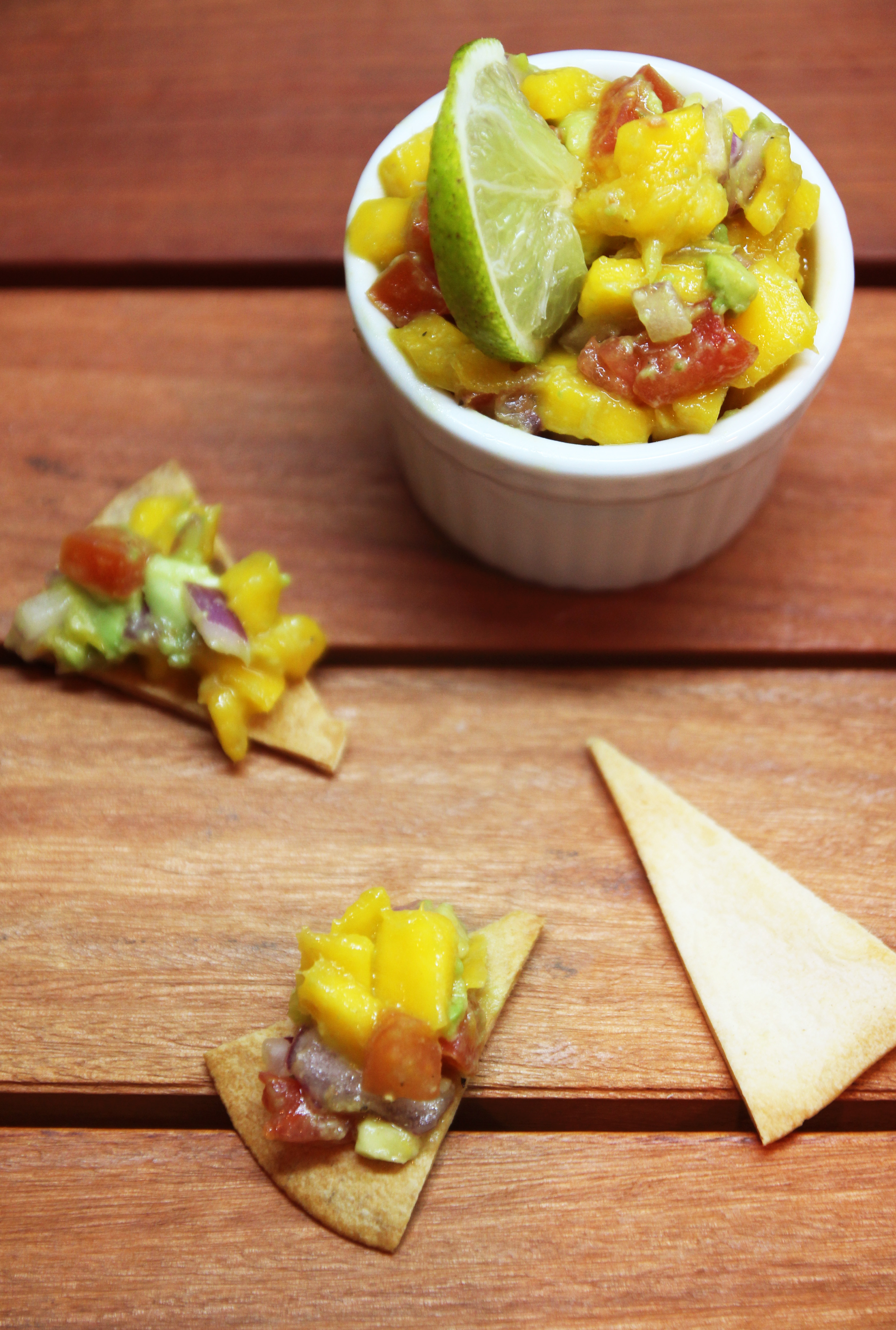 Mango Avocado Salsa & Homemade Tortilla Chips23