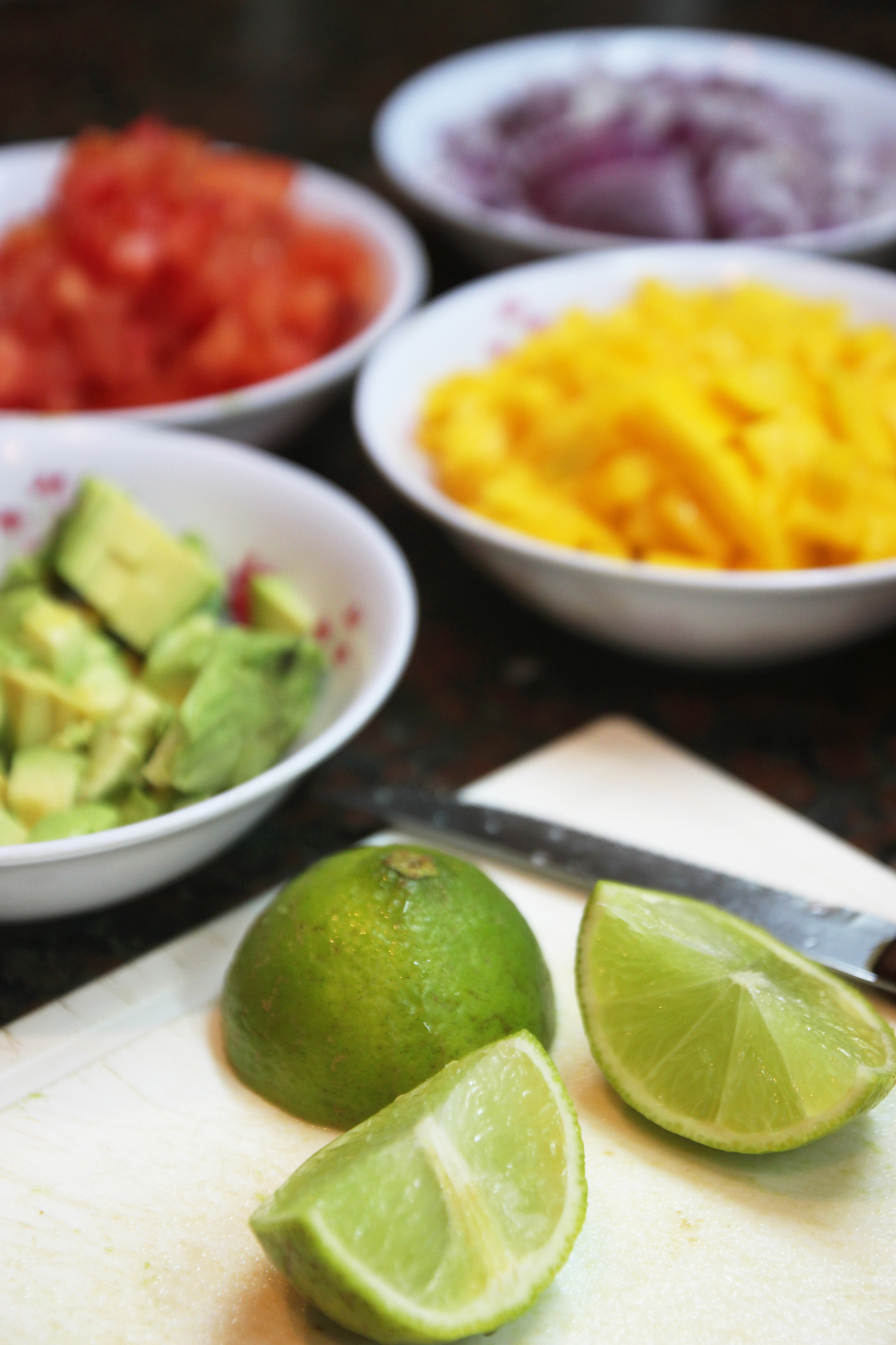 Mango Avocado Salsa & Homemade Tortilla Chips4
