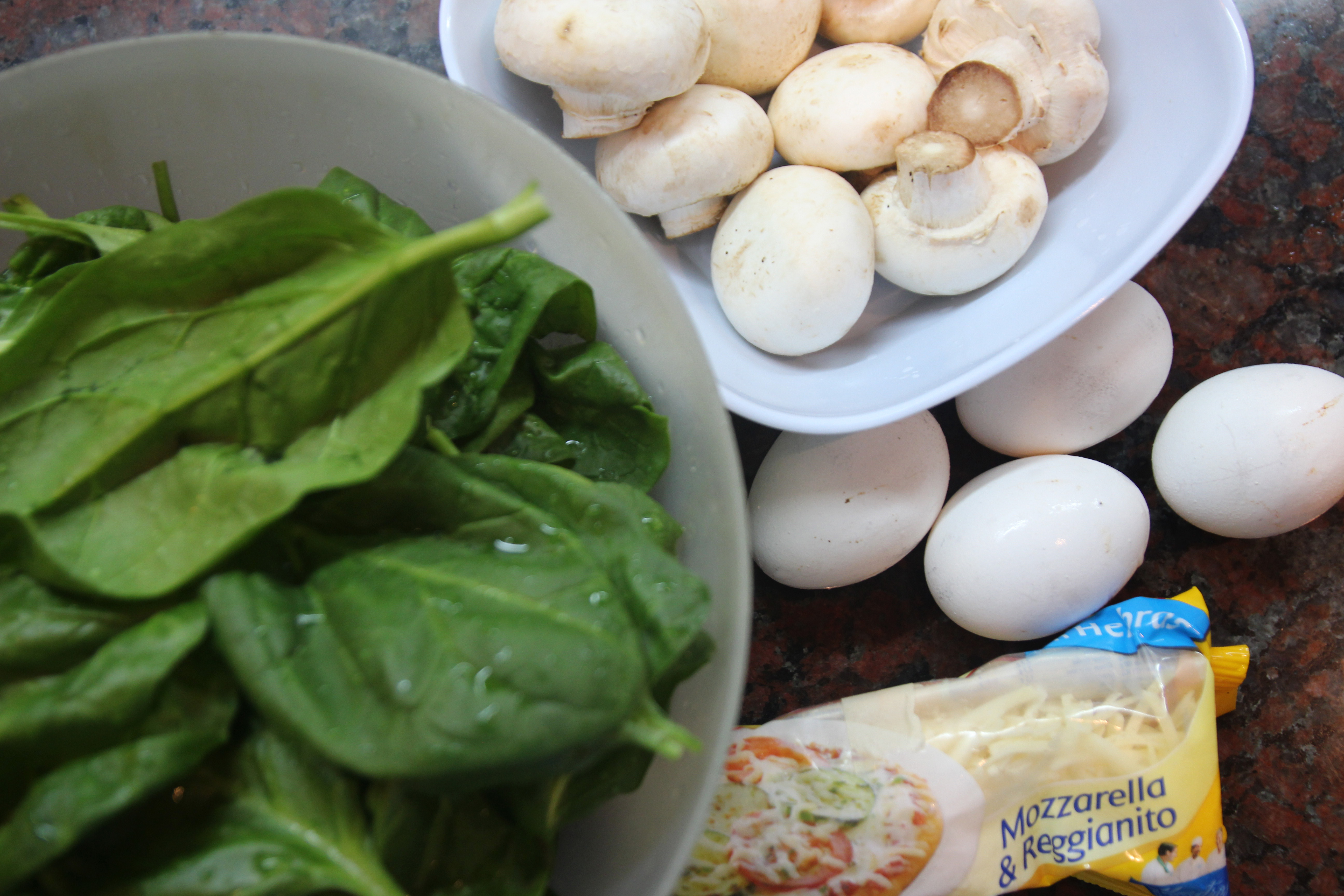 Mushroom Spinach Quiche Cups1