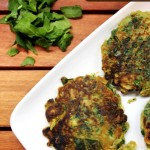 Spring Onion & Spinach Pancakes + Thinking about my father