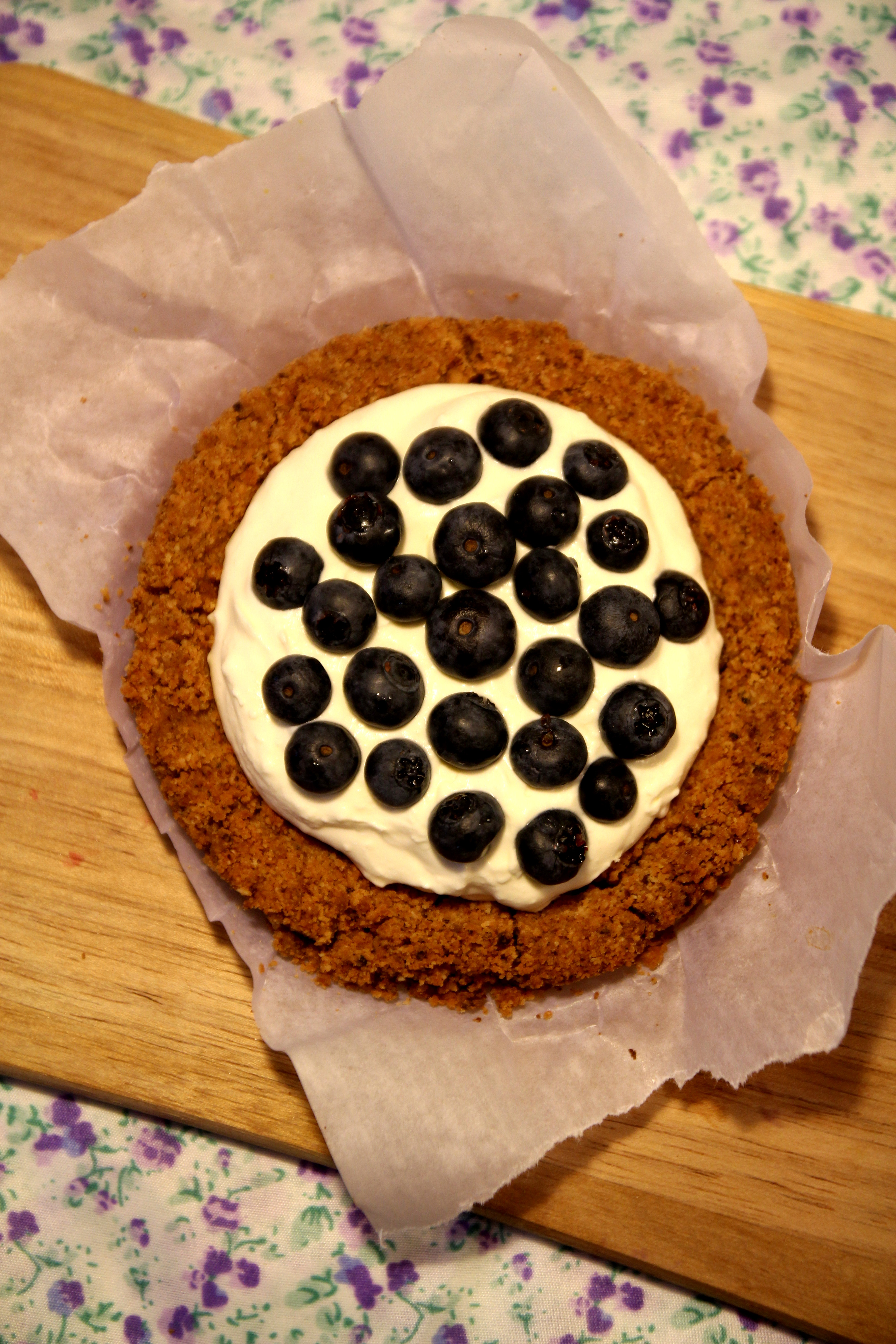 Blueberry & Cream Tart