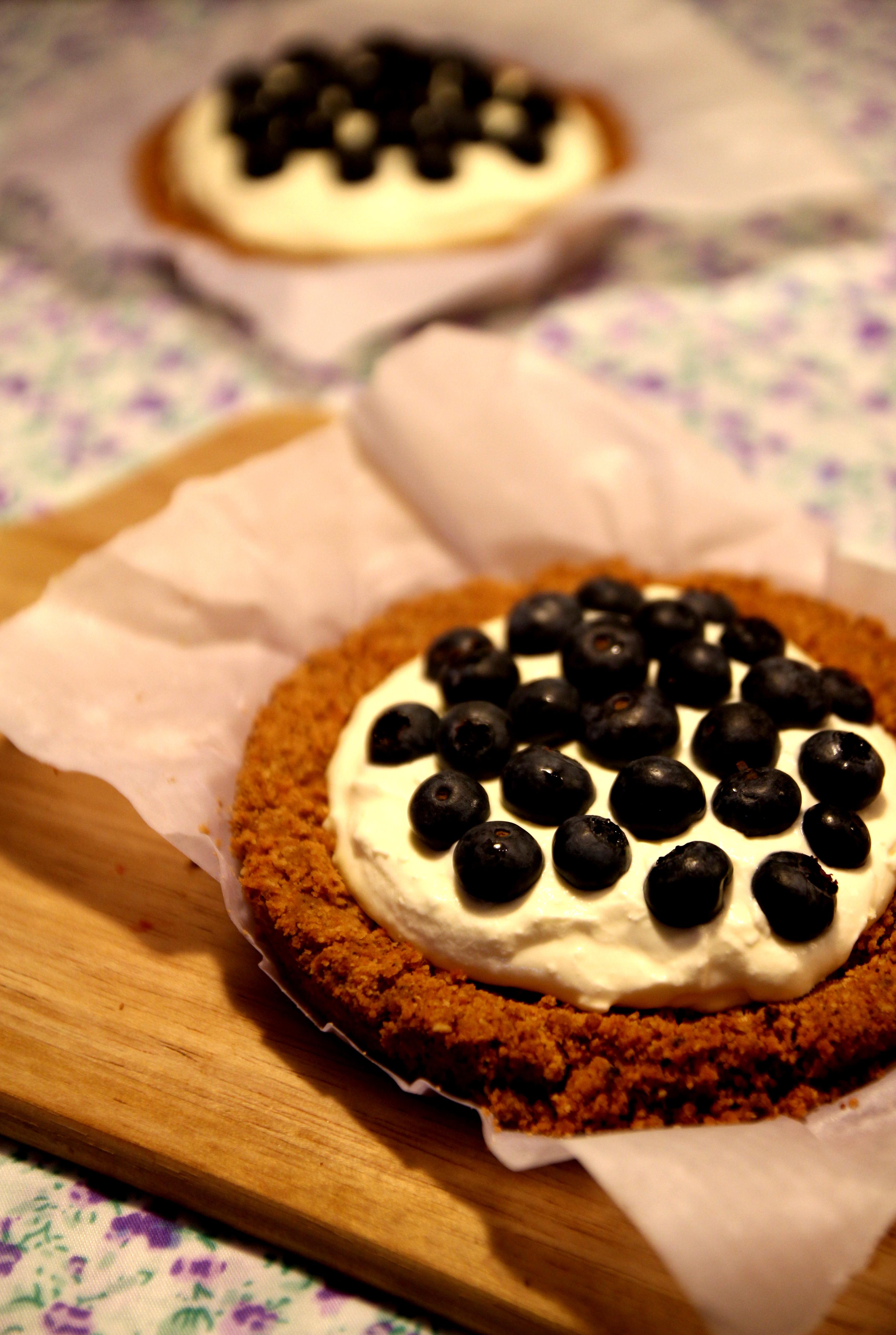 Blueberry & Cream Tart1