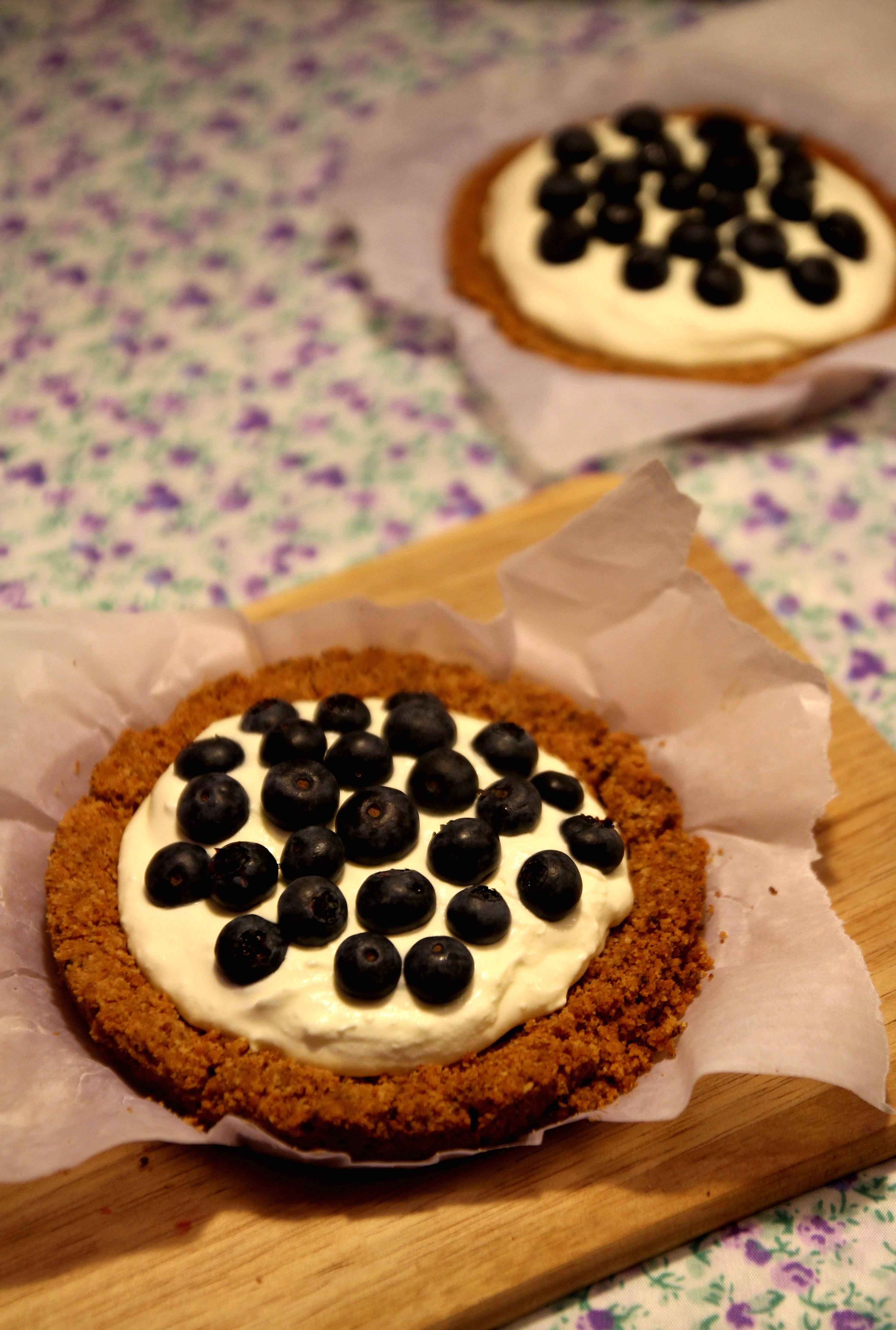Blueberry & Cream Tart5