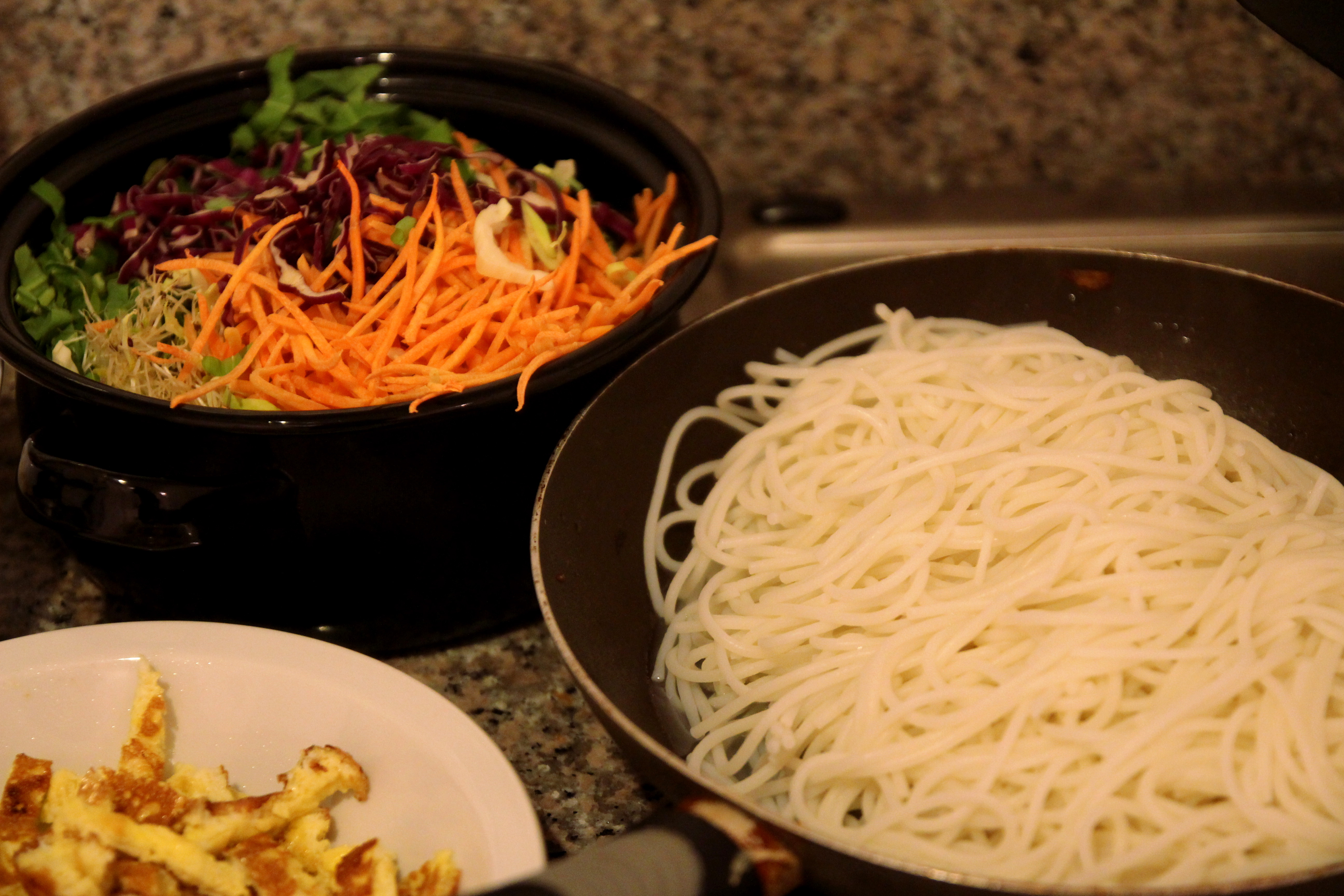Asian-Style Chicken & Vegetable Rice Noodles6