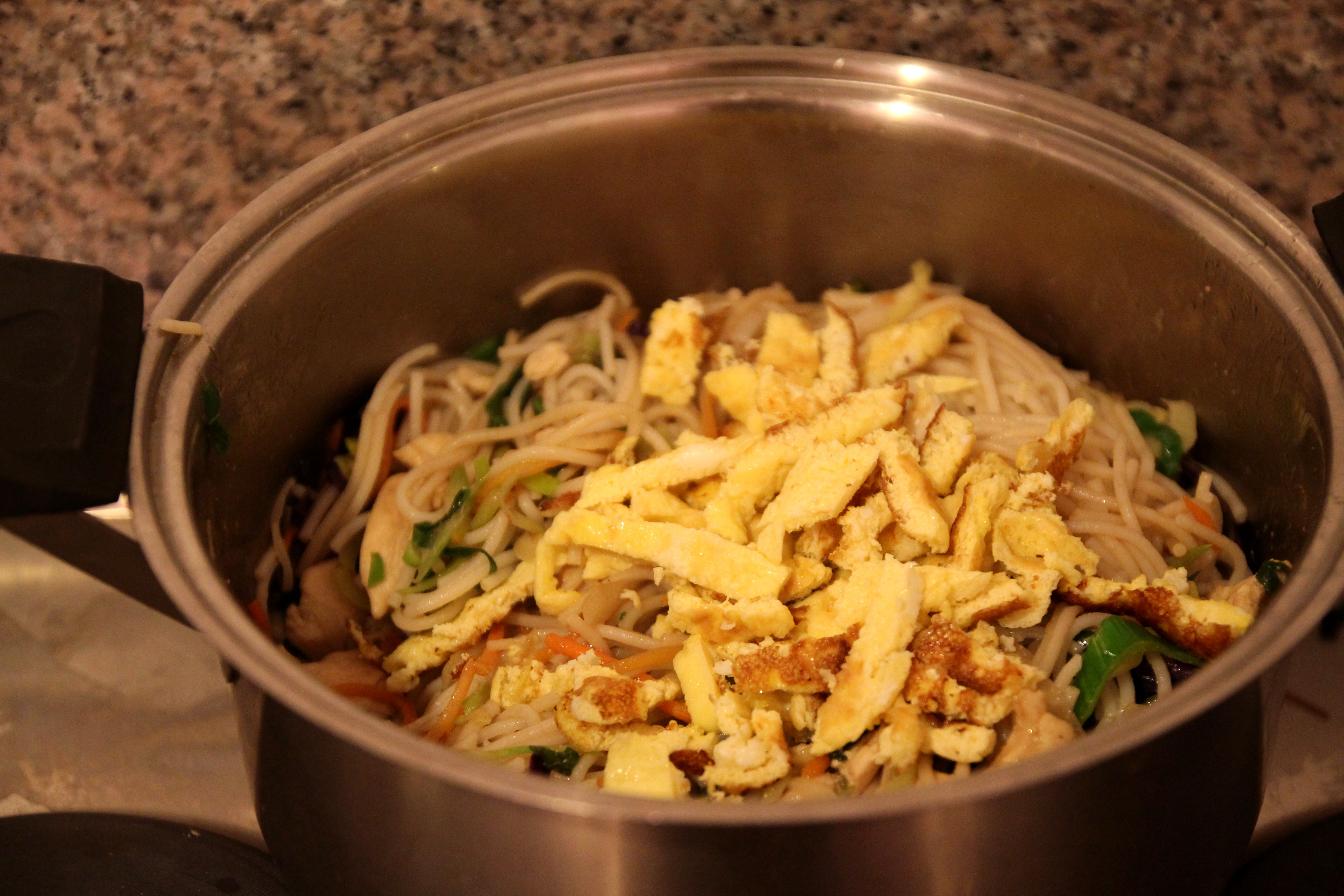 Asian-Style Chicken & Vegetable Rice Noodles9