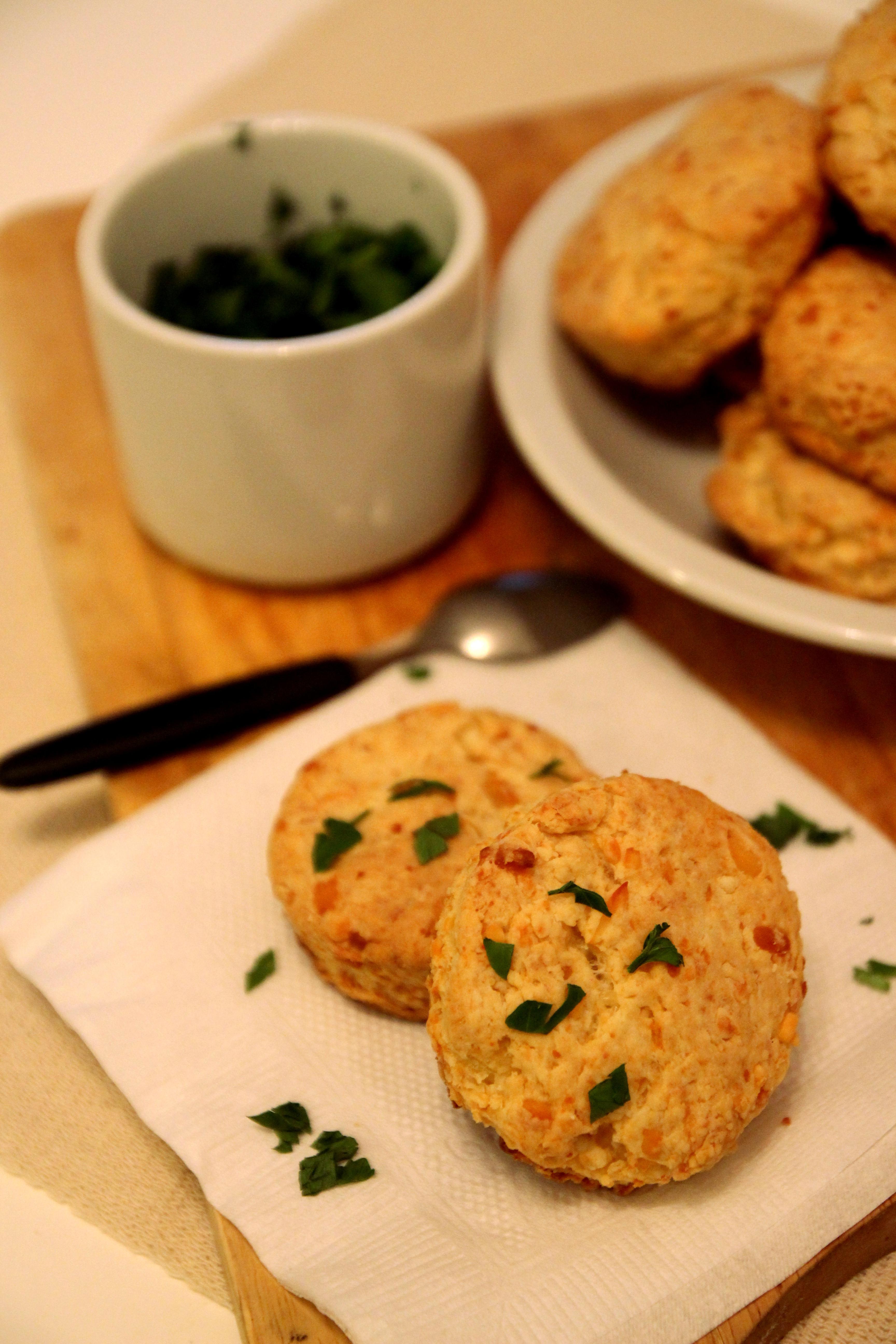 Cheddar Cheese Scones15