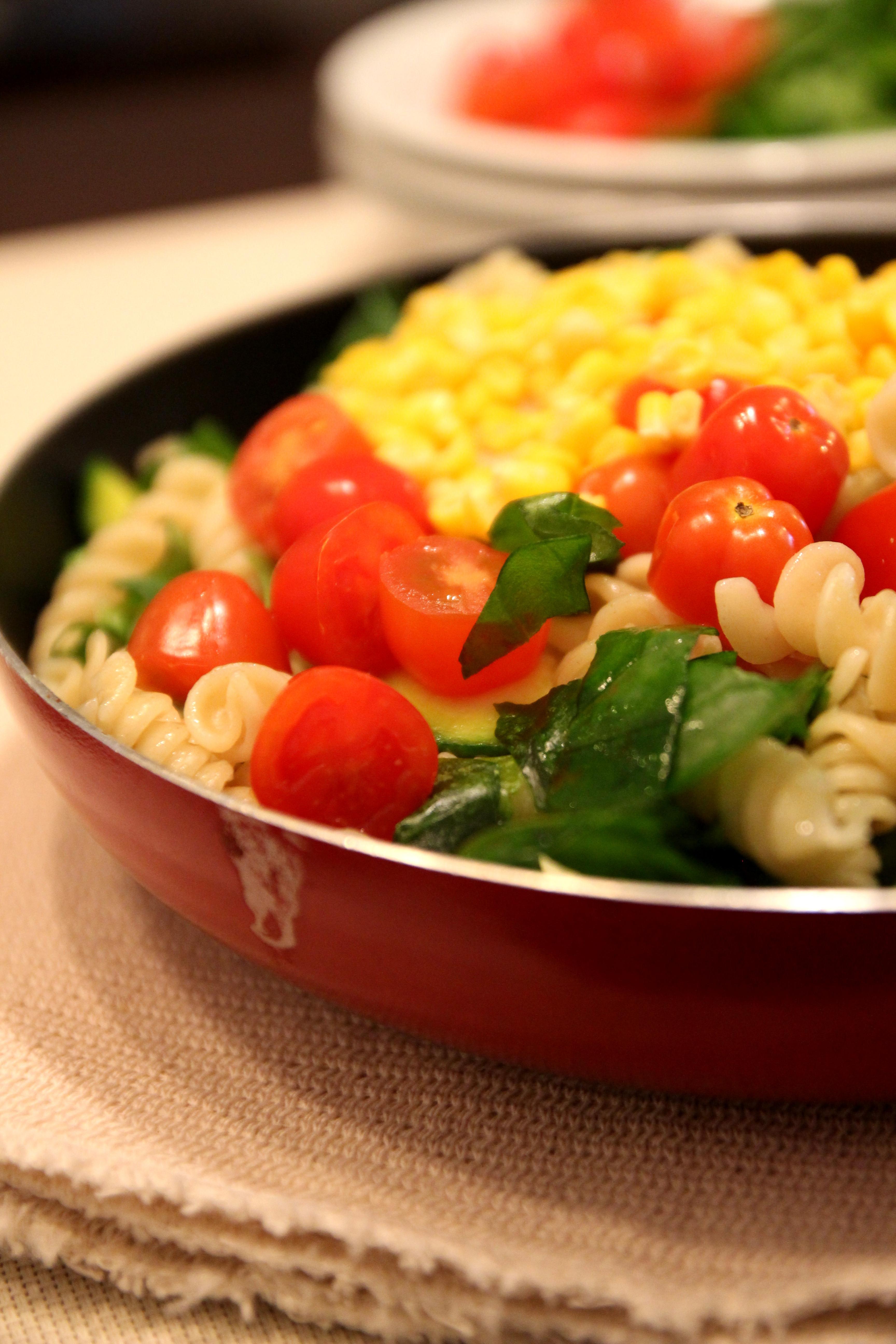 Colorful Vegetable Pasta Salad13