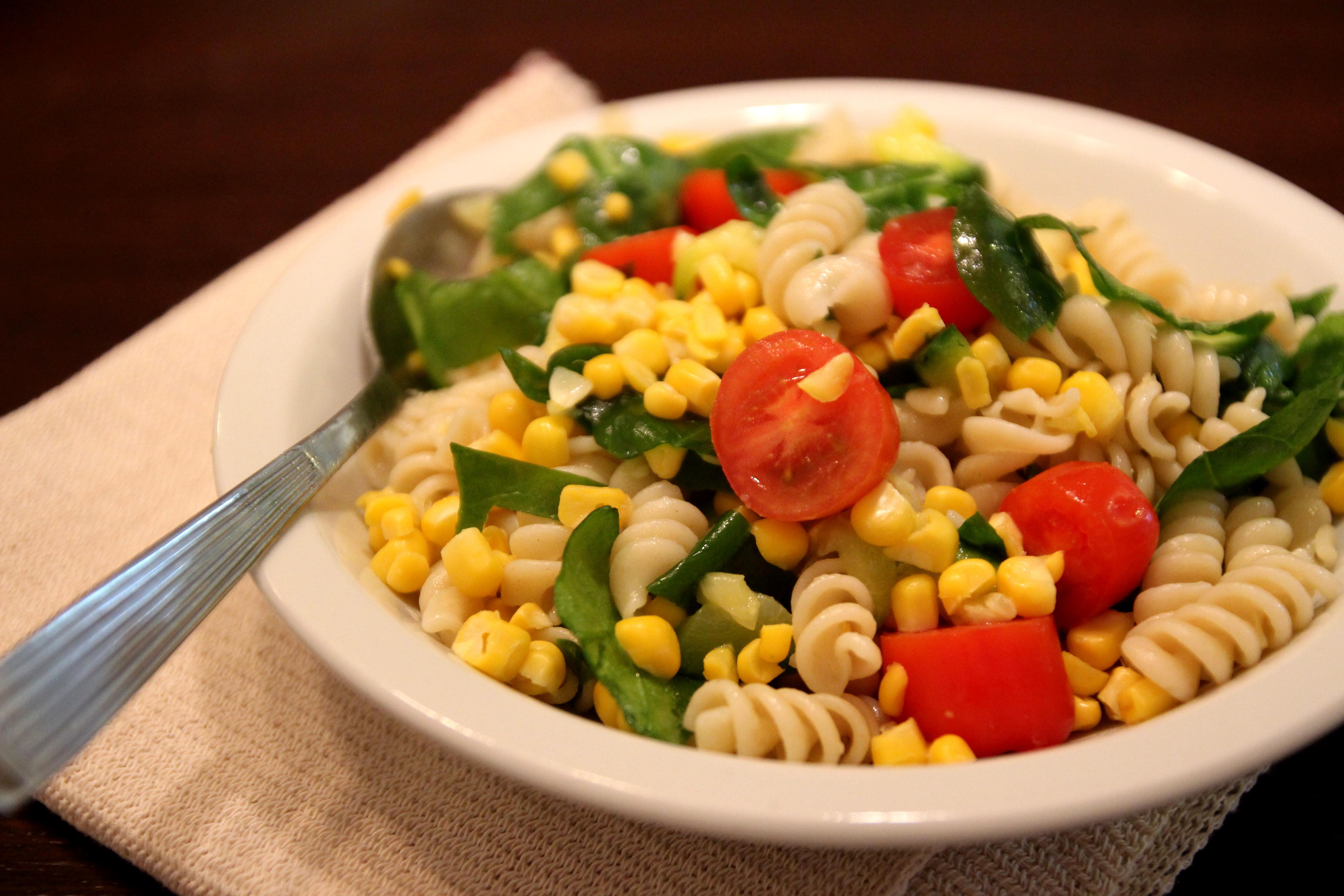 Colorful Vegetable Pasta Salad14