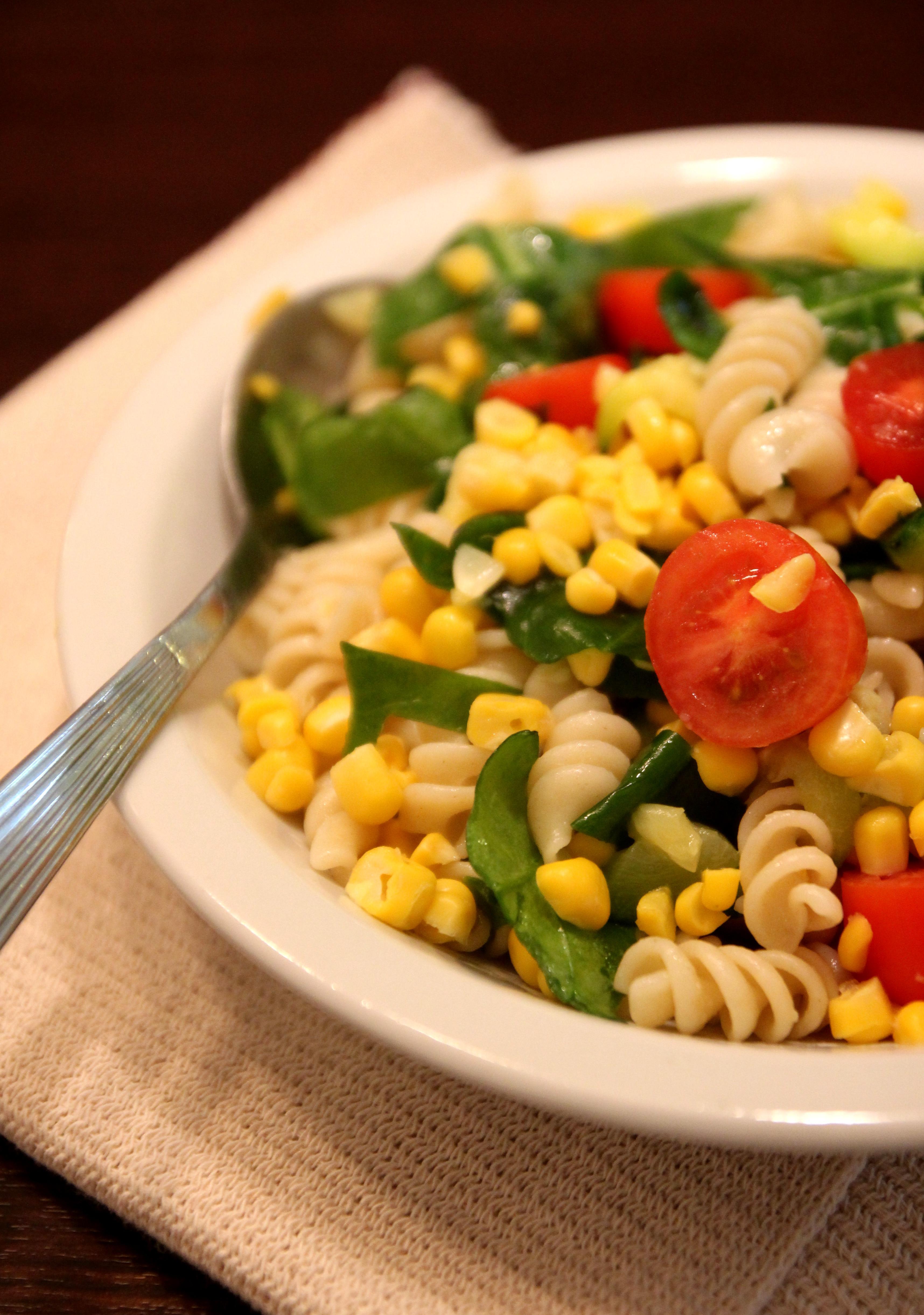 Colorful Vegetable Pasta Salad15