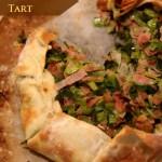 Leek & Ham Tart