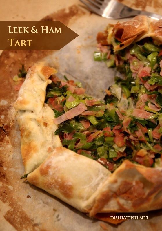 Leek and Ham Tart