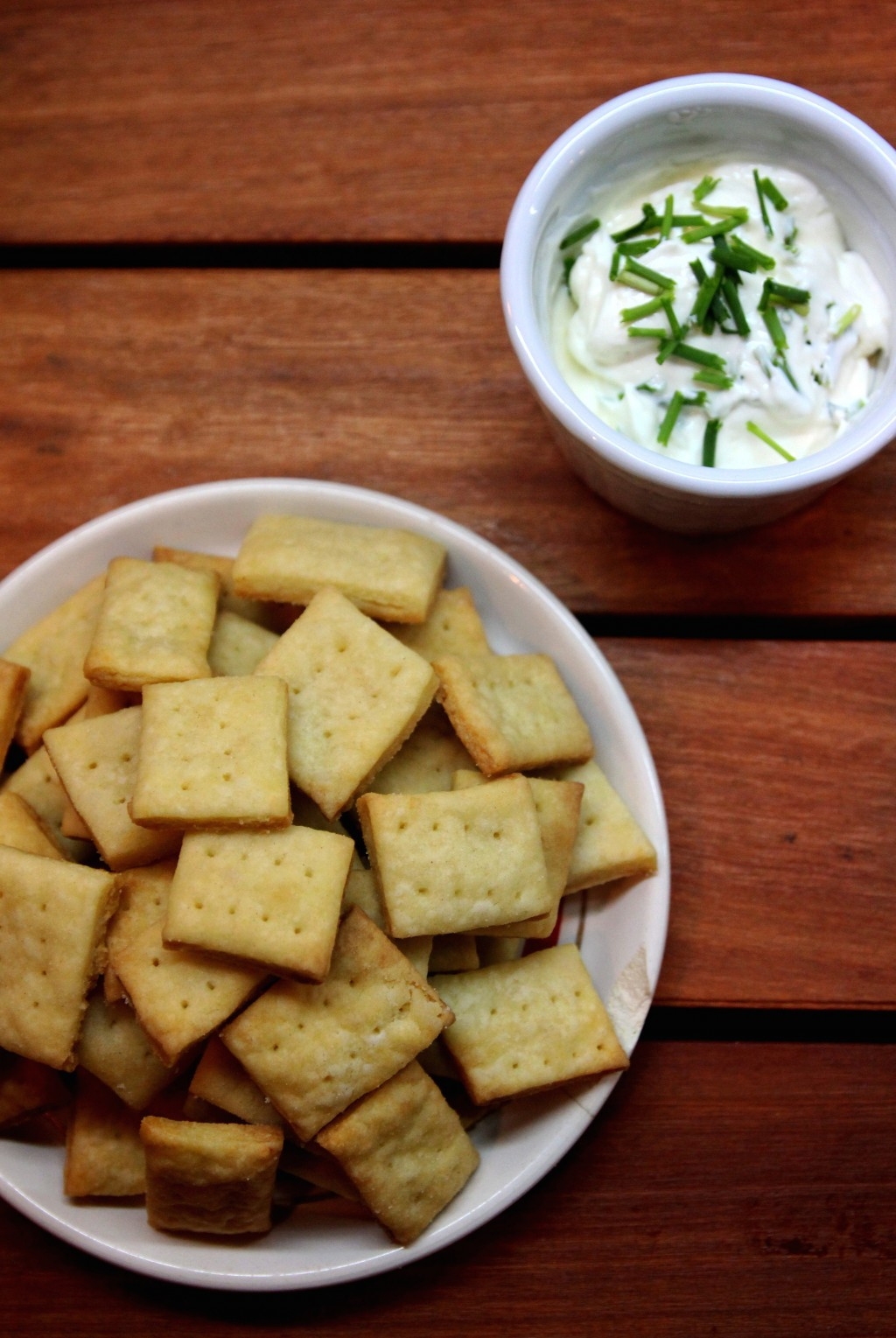 Parmesan Cream Crackers6