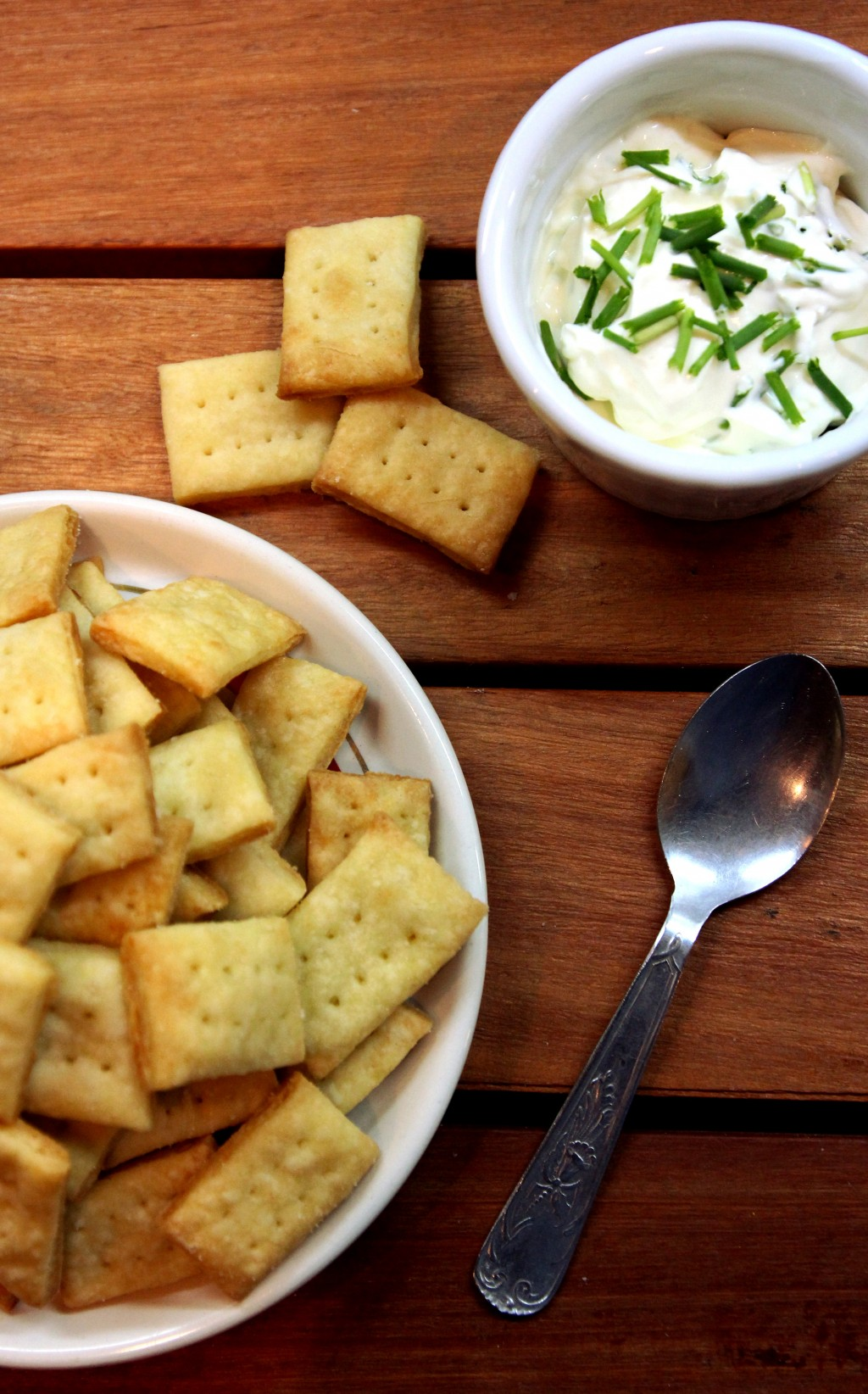 Parmesan Cream Crackers8