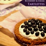 Blueberry & Cream Tartlettes + The search has begun