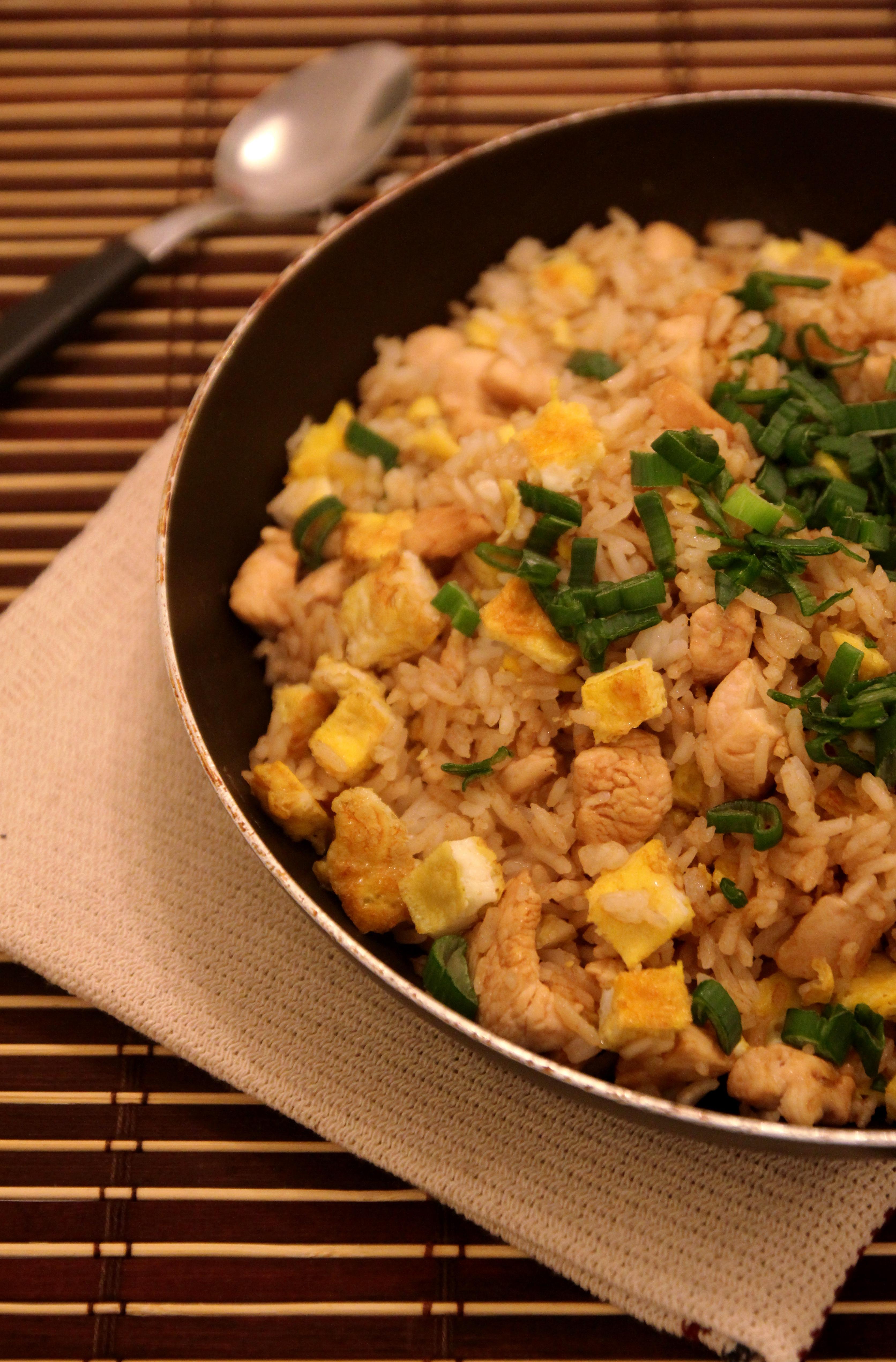 Chicken Fried Rice16