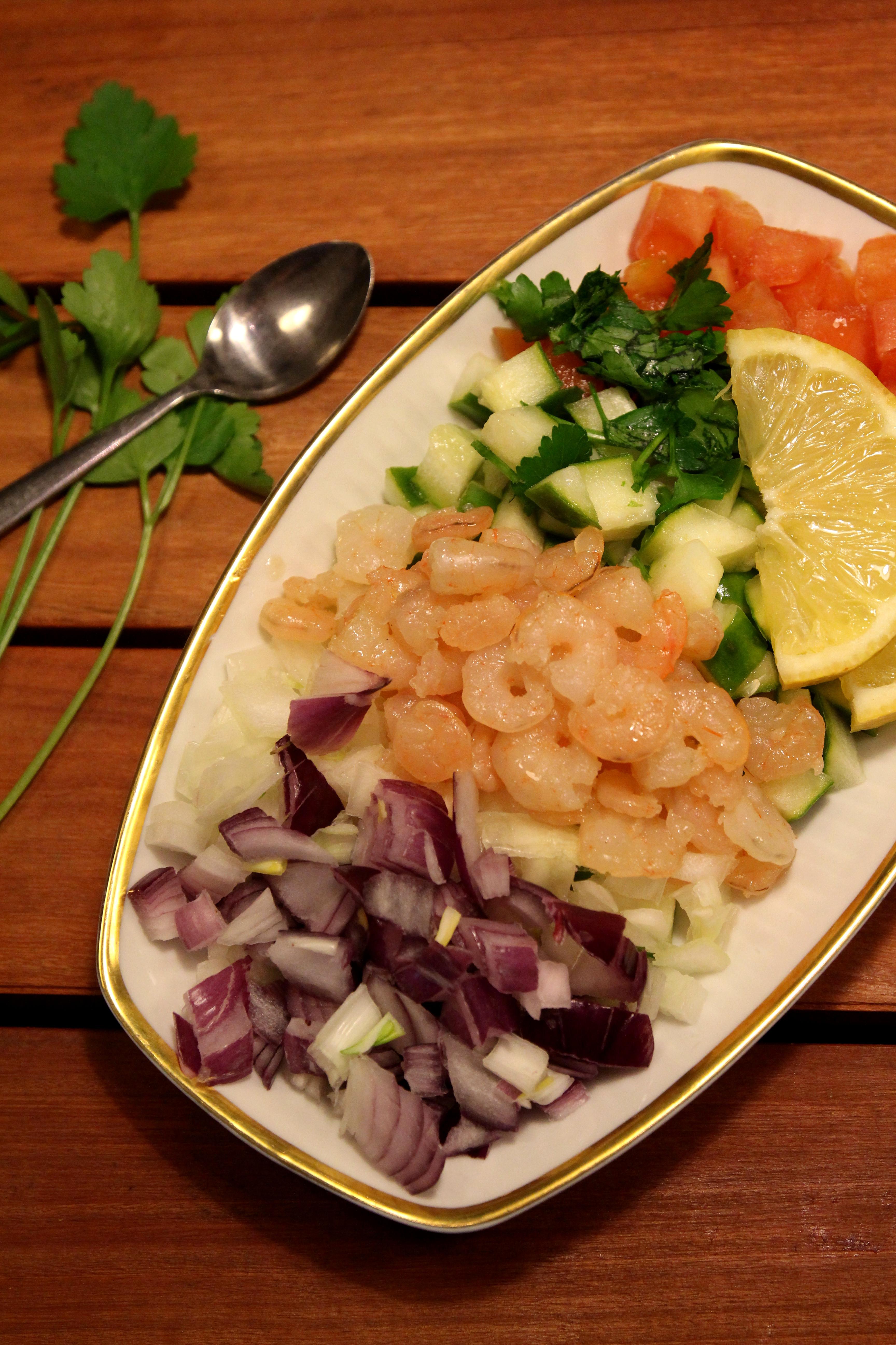 Shrimp & Vegetable Salad10
